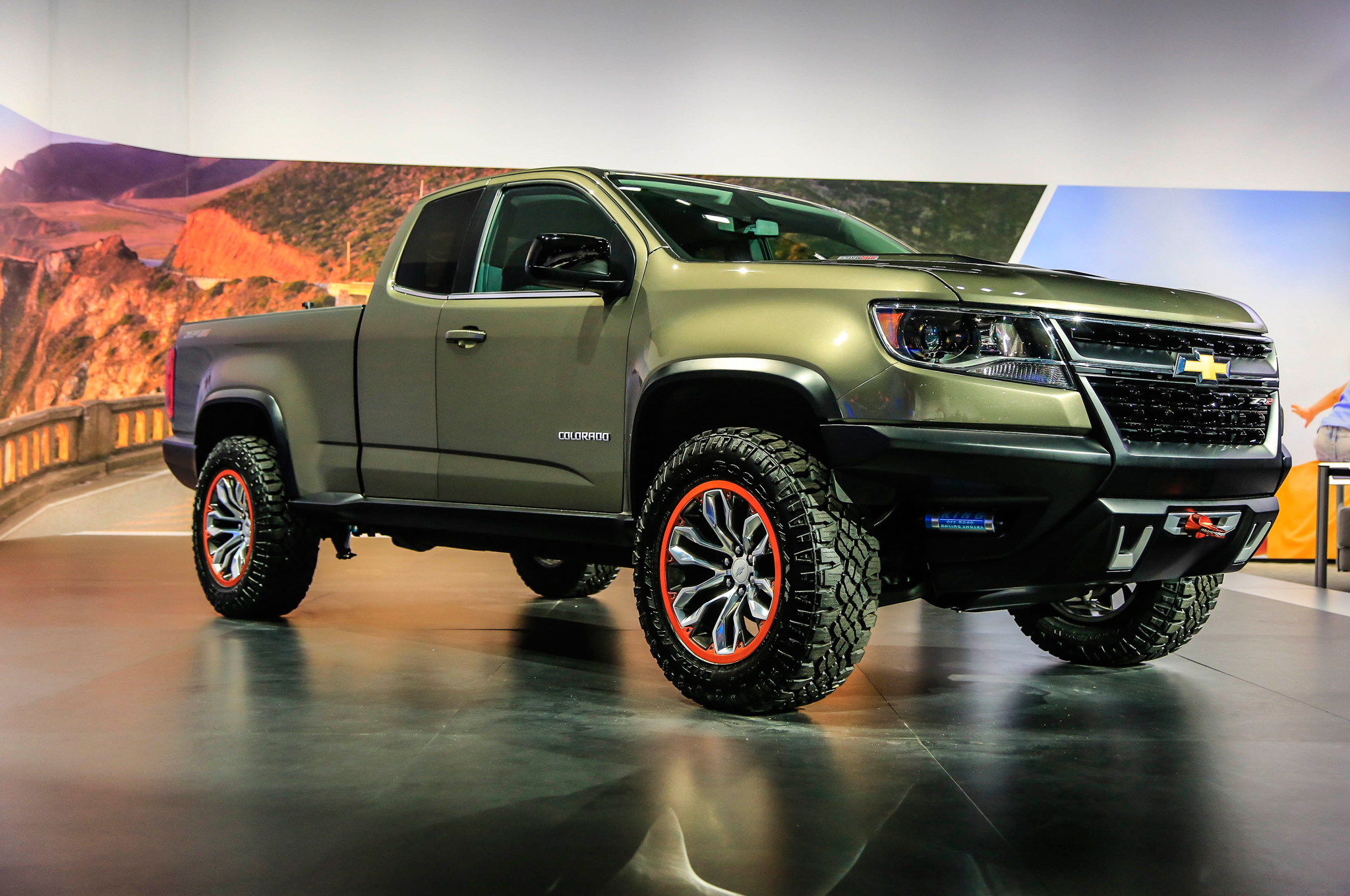 Chevrolets Zr2 Concept Is The Diesel Powered Off Roader You Want