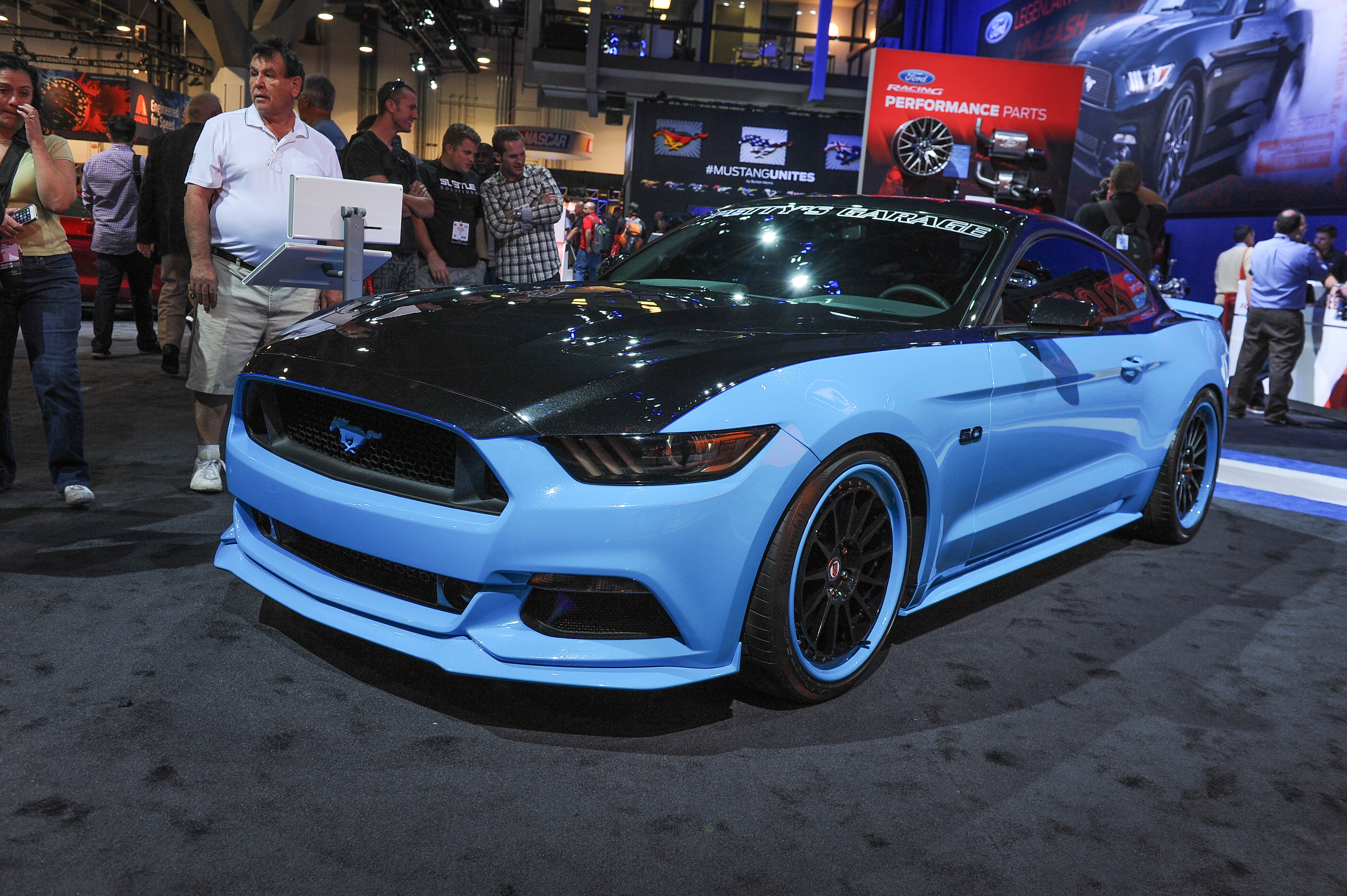 Ford Mustangs at the 2014 SEMA Show