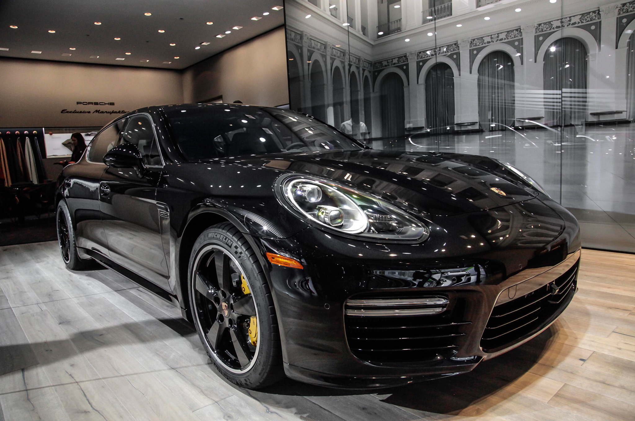 2015 Porsche Panamera Exclusive Dr McDreamy Heat Up LA Show