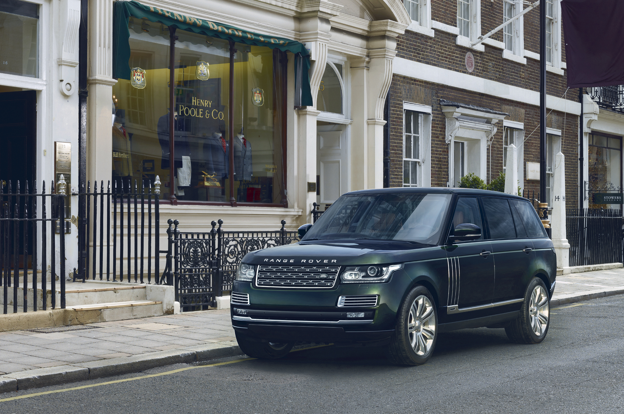 Most Expensive Range Rover Ever is an Ultra-Lux Hunting Special
