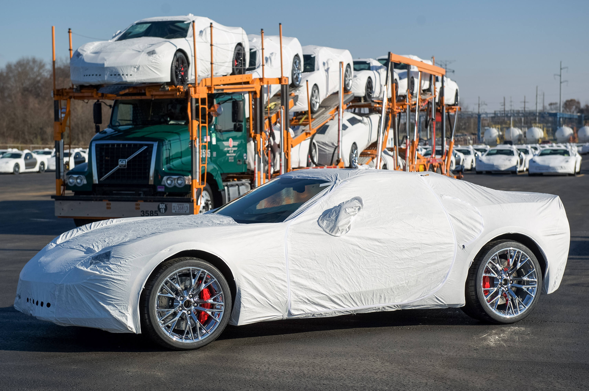 First 2015 Chevrolet Corvette Z06 Deliveries En Route