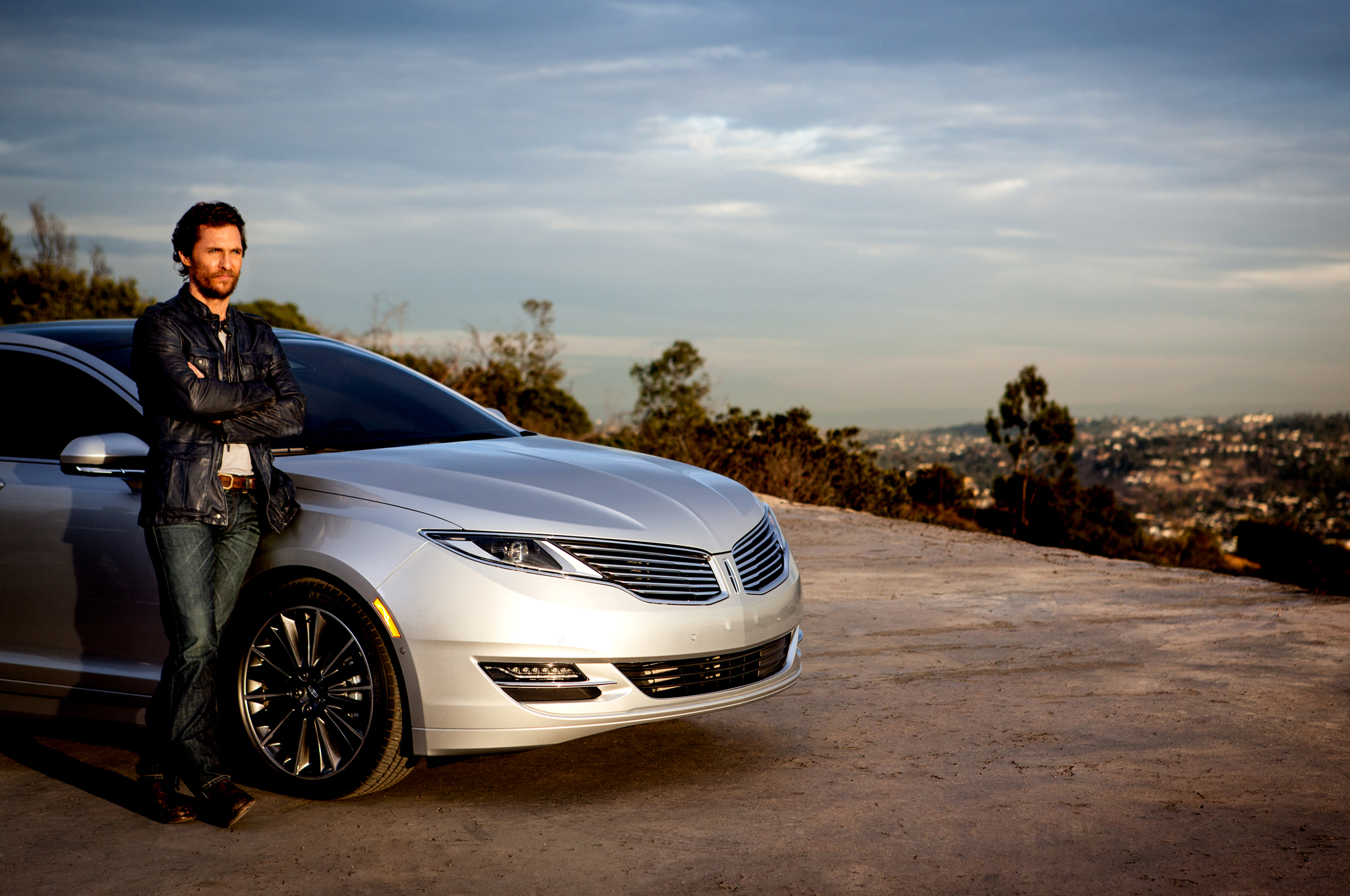Lincoln Brings Matthew Mcconaughey Back To Promote 2015 Mkz Motor