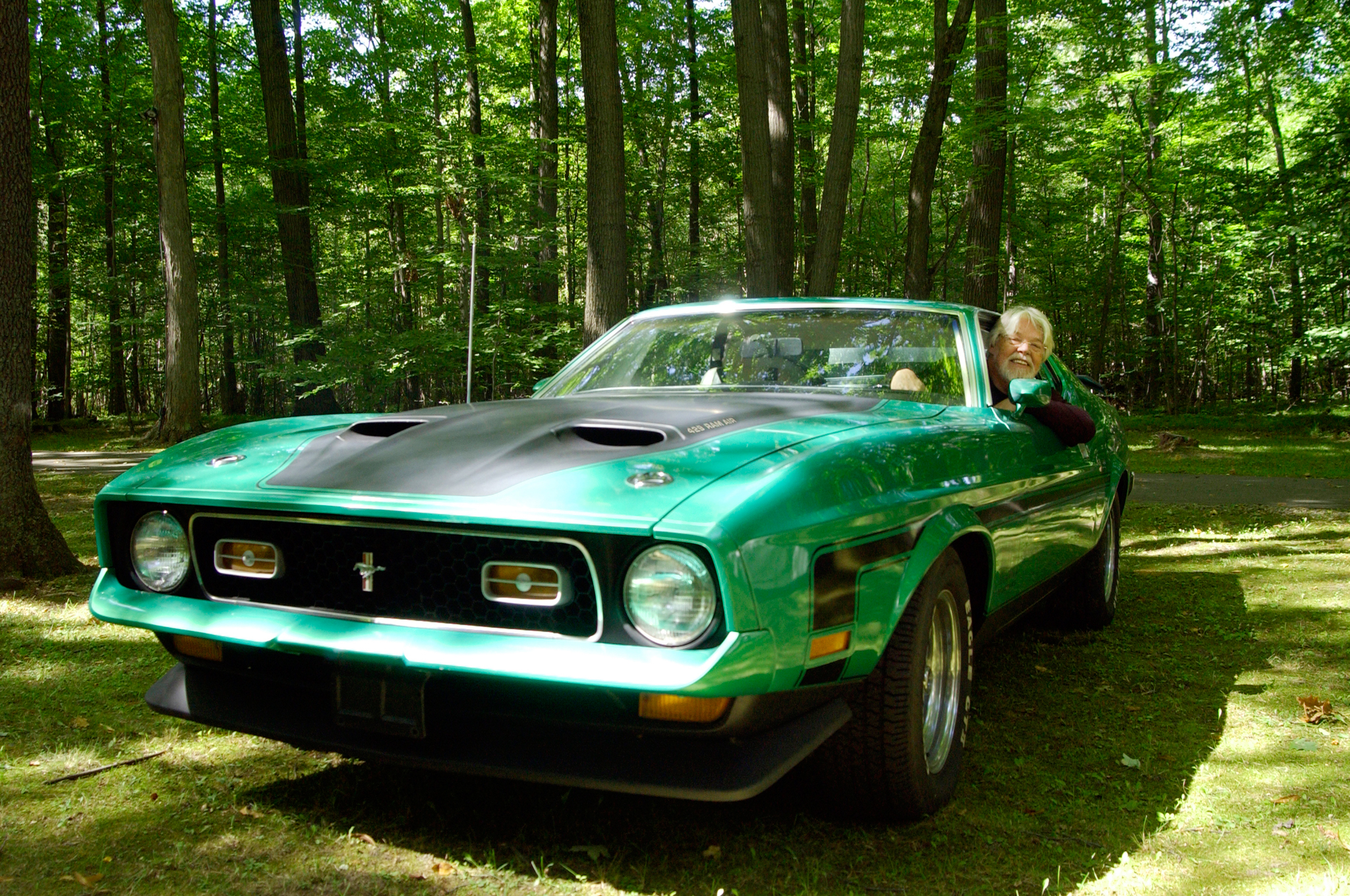 Celebrity Drive Rock Hall Of Famer Bob Seger Motor Trend 1971 Ford Mustang Mach 1 For Sale 13