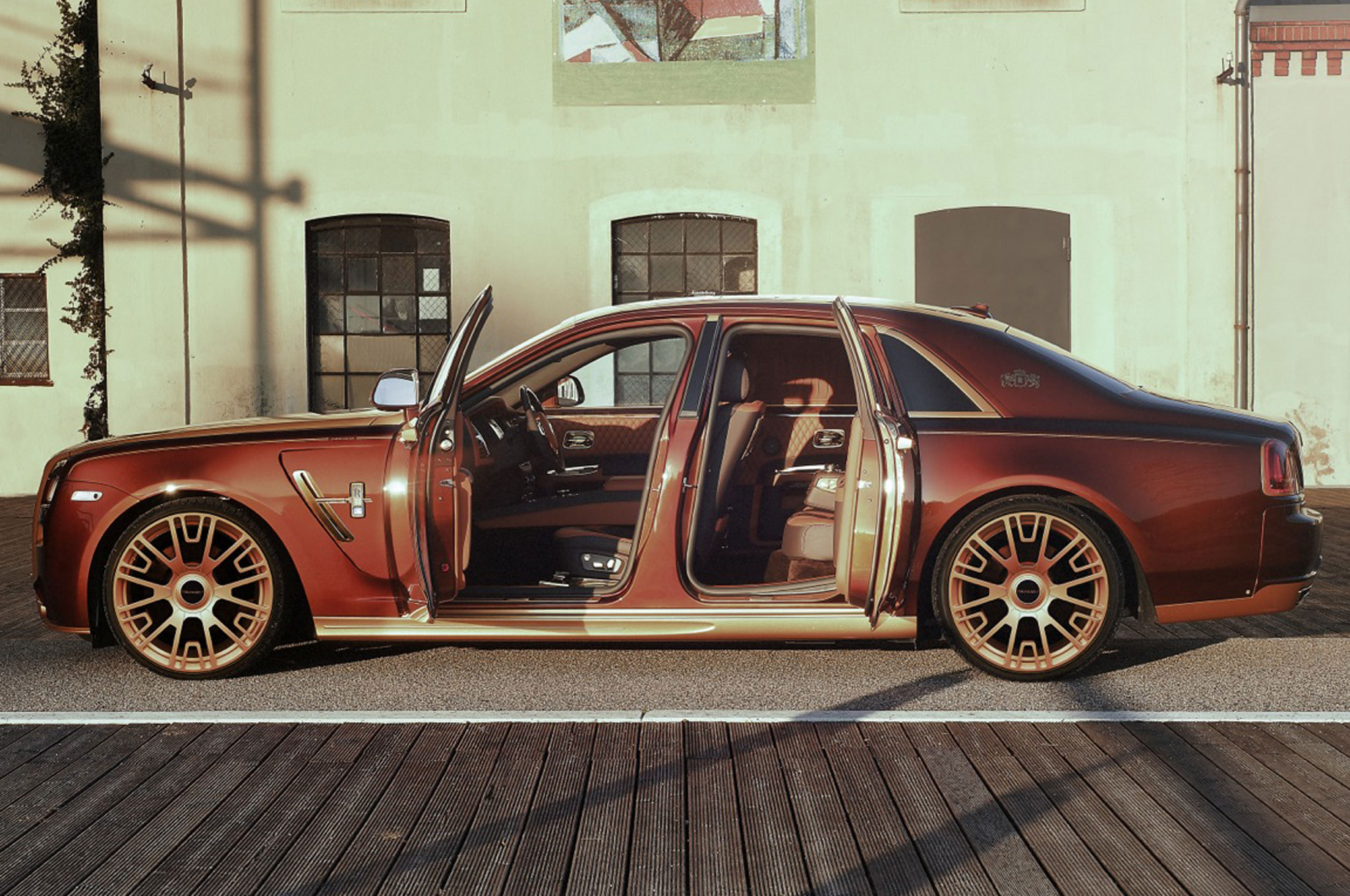 2015 Rolls Royce Ghost By Mansory Won T Give You Cavities