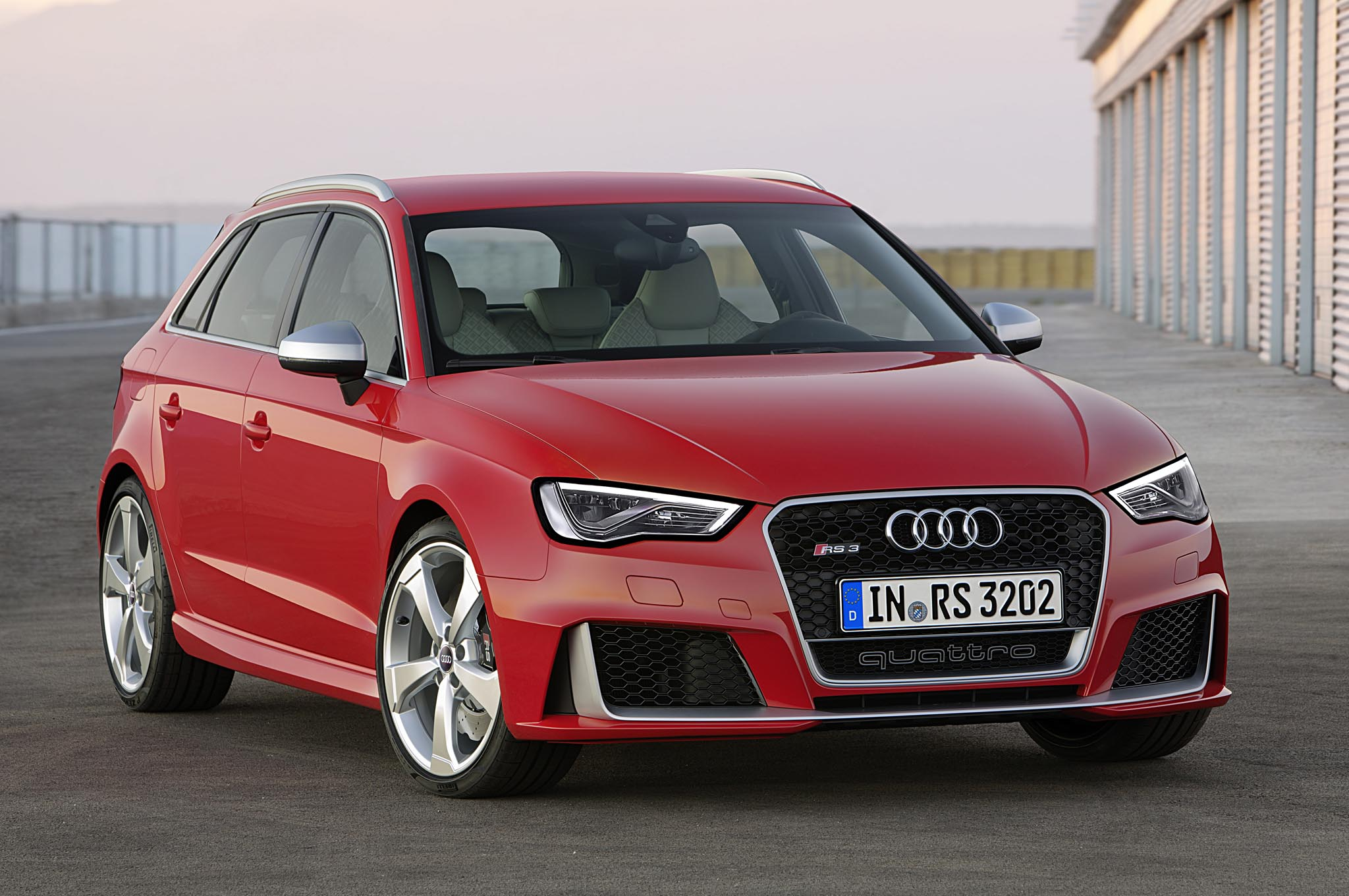362-HP Audi RS3 Sportback Revealed for Europe