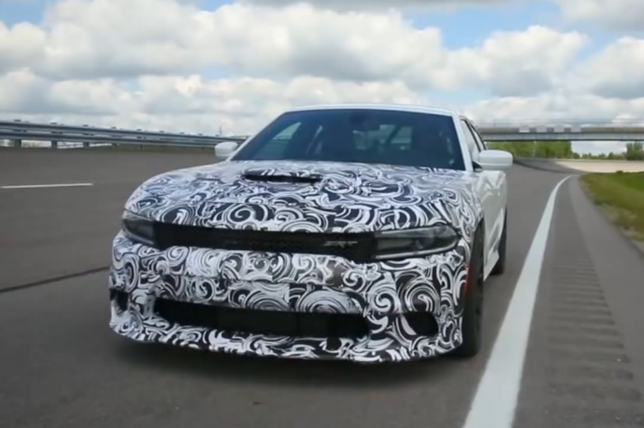 Watch the 2015 Dodge Charger SRT Hellcat Hit 204 MPH in Testing ...