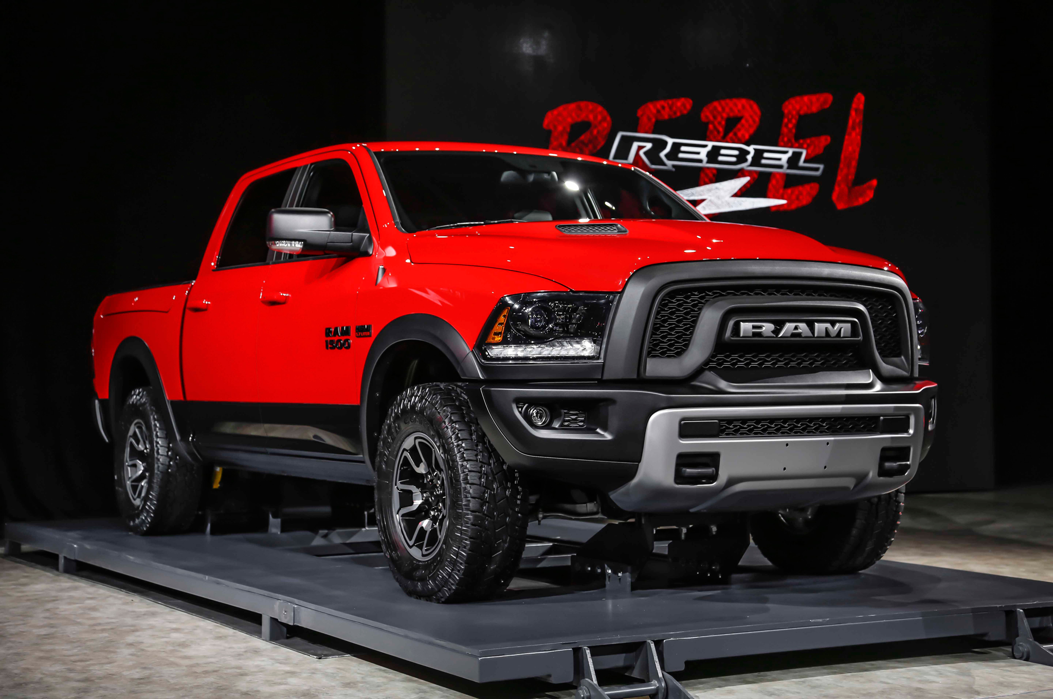 2015 Ram 1500 Rebel First Look