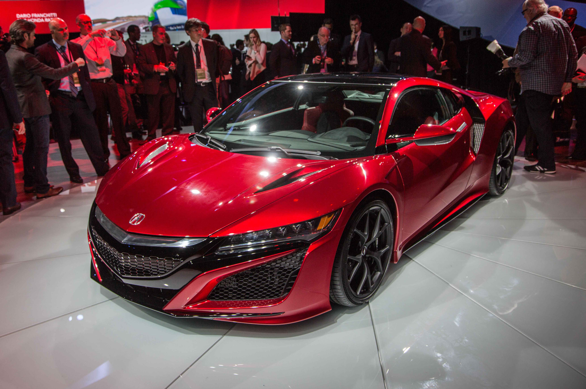 2016 Acura NSX Rolls Into Detroit With 'Badass' 550-Plus HP - Motor ...
