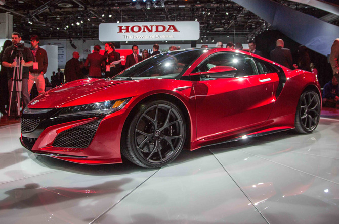 2016 Acura Nsx First Look Motor Trend