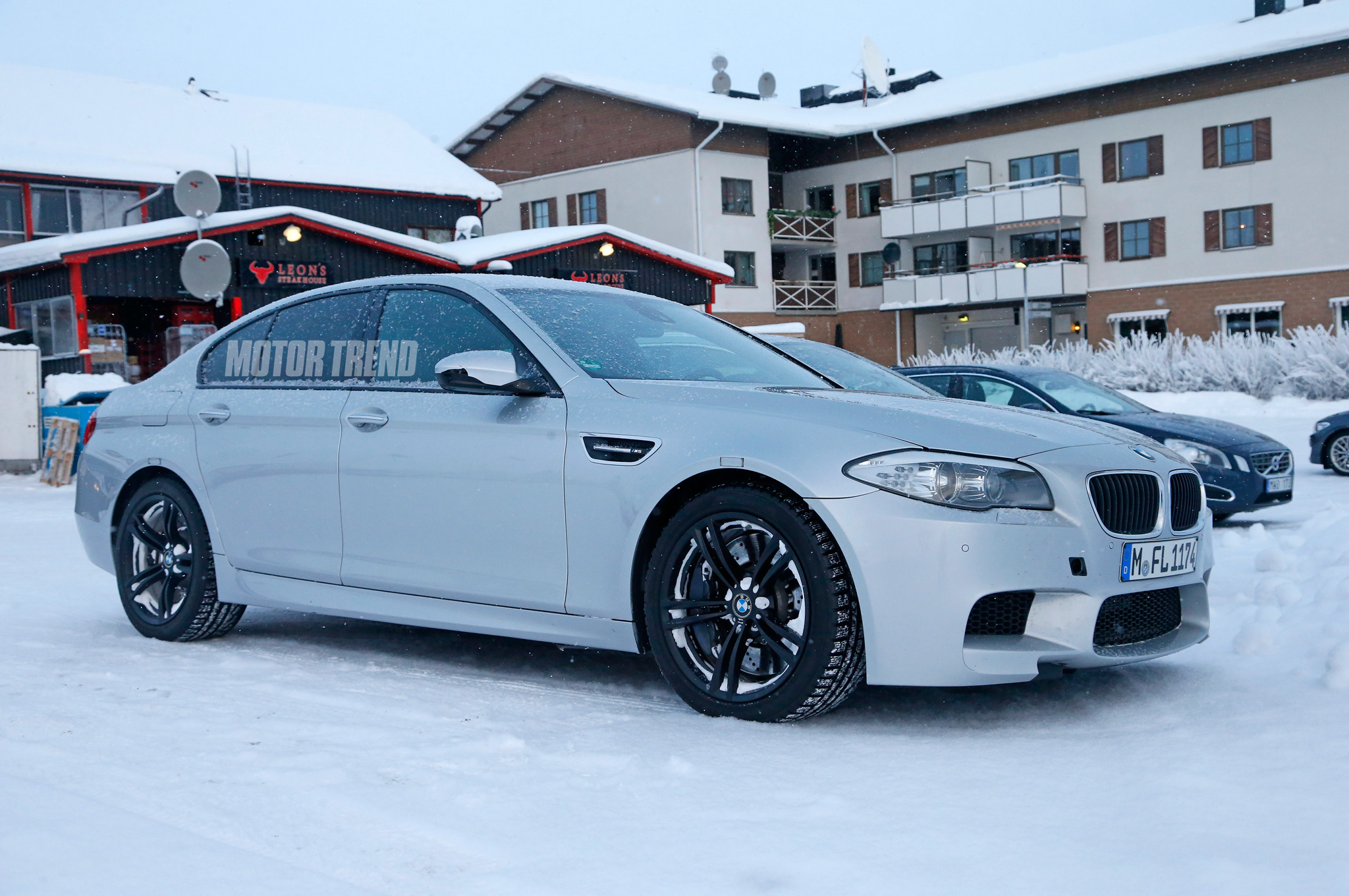 Bmw All Wheel Drive >> All Wheel Drive Bmw M5 Xdrive Spied Testing Motortrend