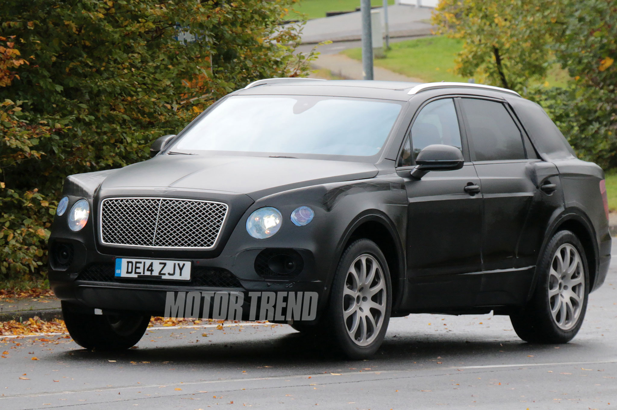 Bentley Considers Second SUV to Slot Below Full-Size Offering