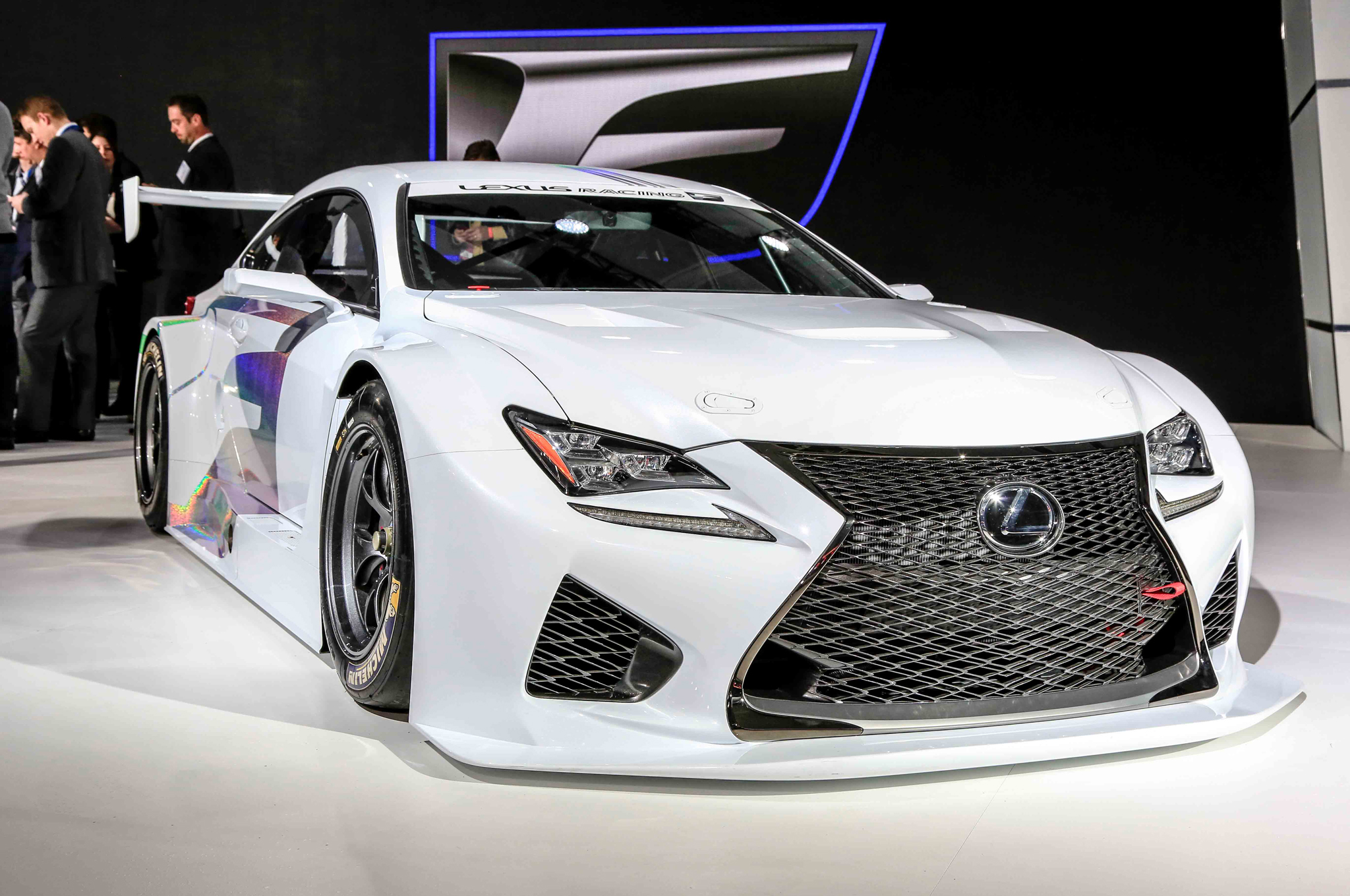 Lexus F Series >> Lexus Rc F Gt3 Racer Debuts In Detroit Will Race In U S By