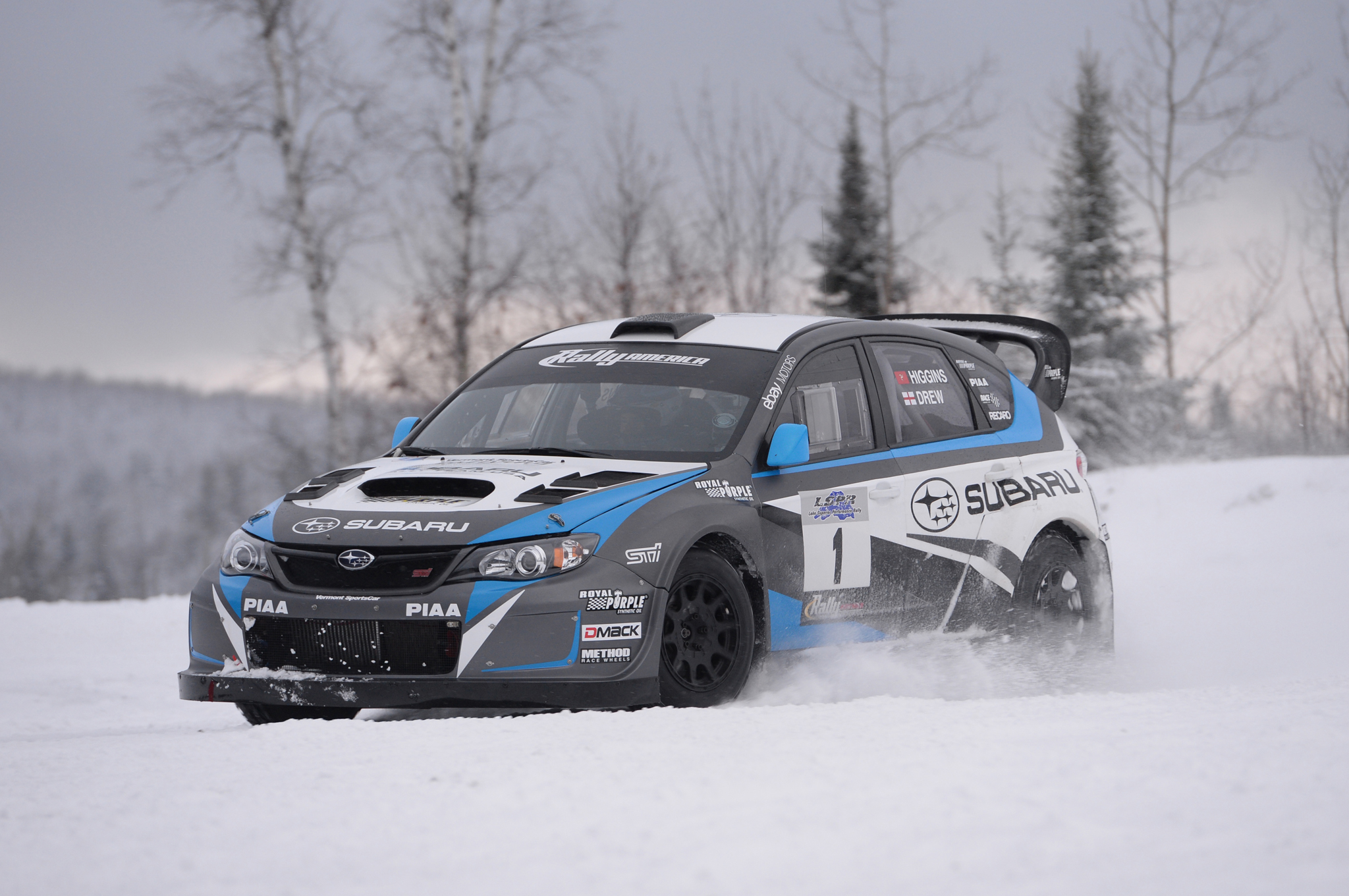 First Slide 2014 Subaru Wrx Sti Rally America Race Car Motor Trend
