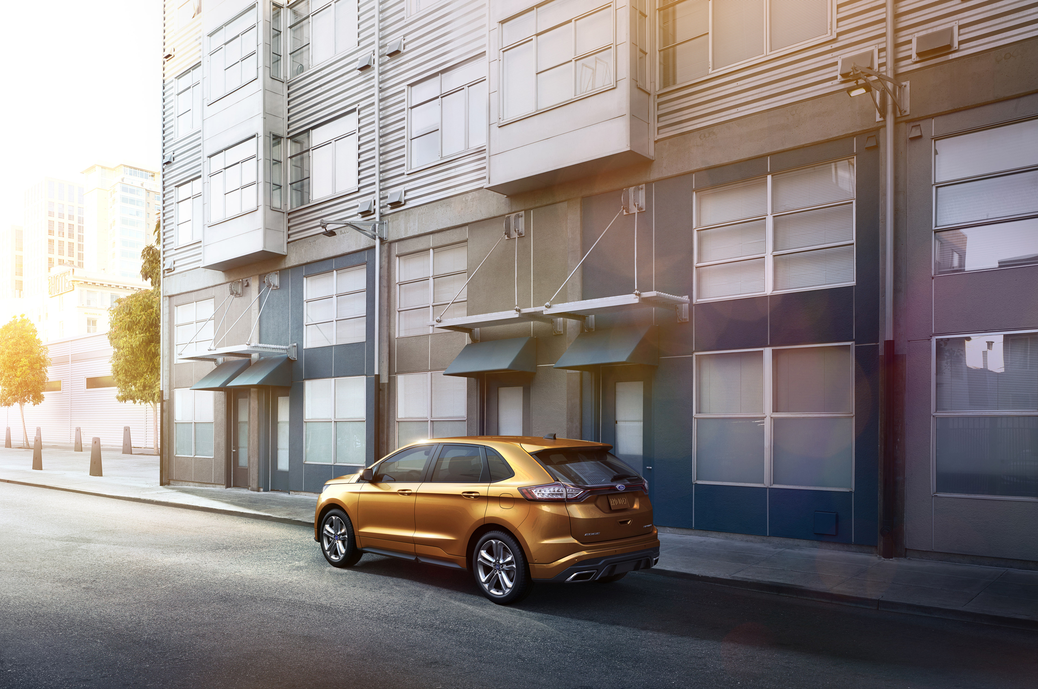 Ford Edge To Start At L Ecoboost Makes  Hp