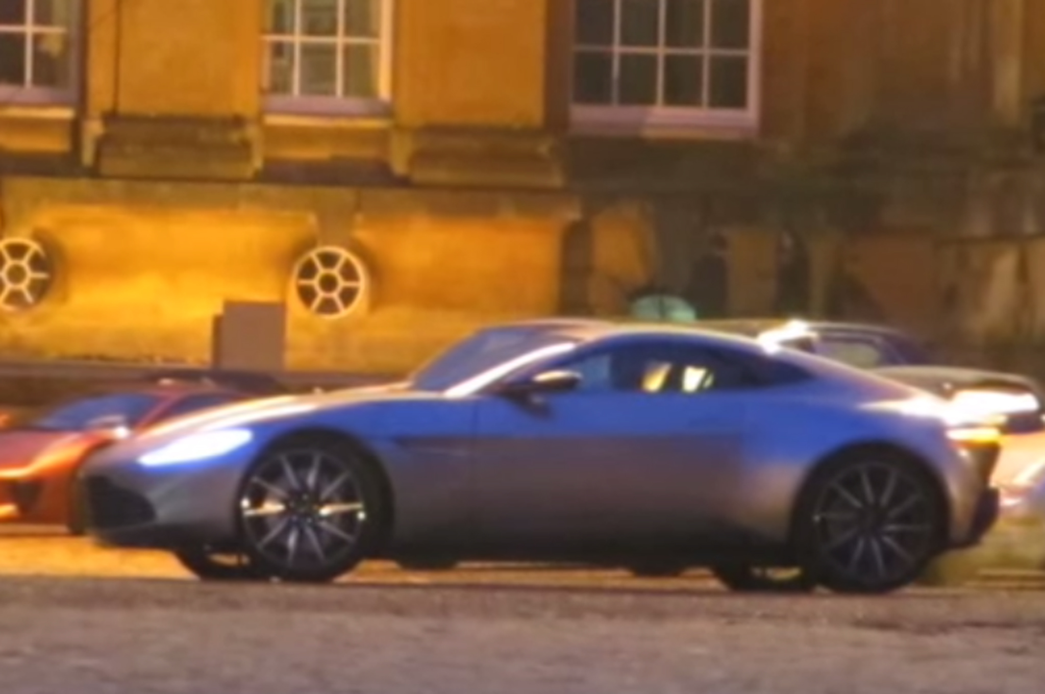 New Video Shows Aston Martin DB10 in Action on James Bond Spectre Set