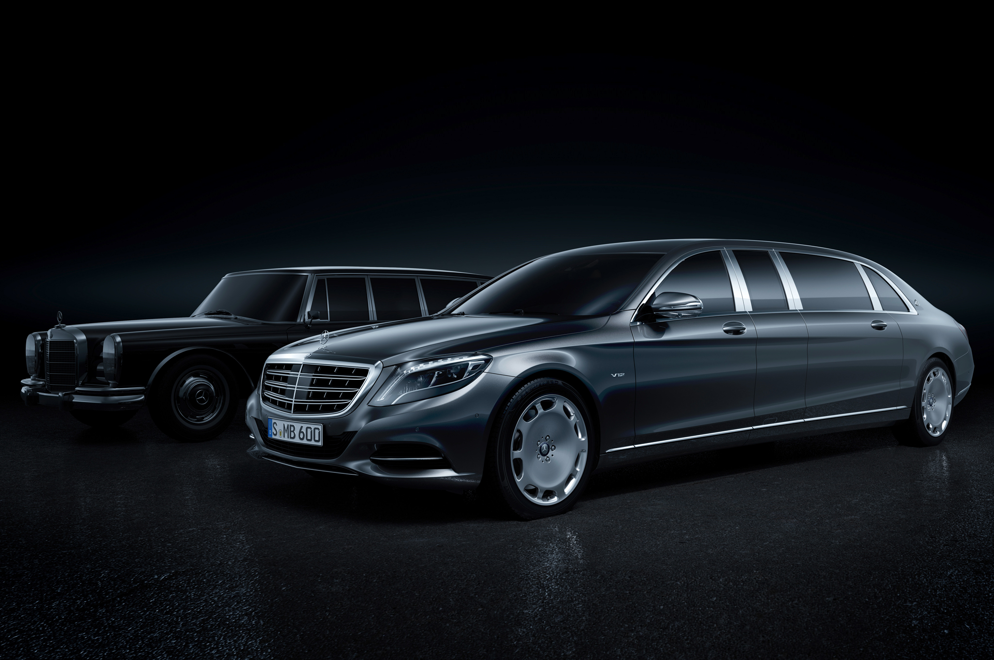 Mercedes Maybach Pullman S600 Will Rule and School All S Classes