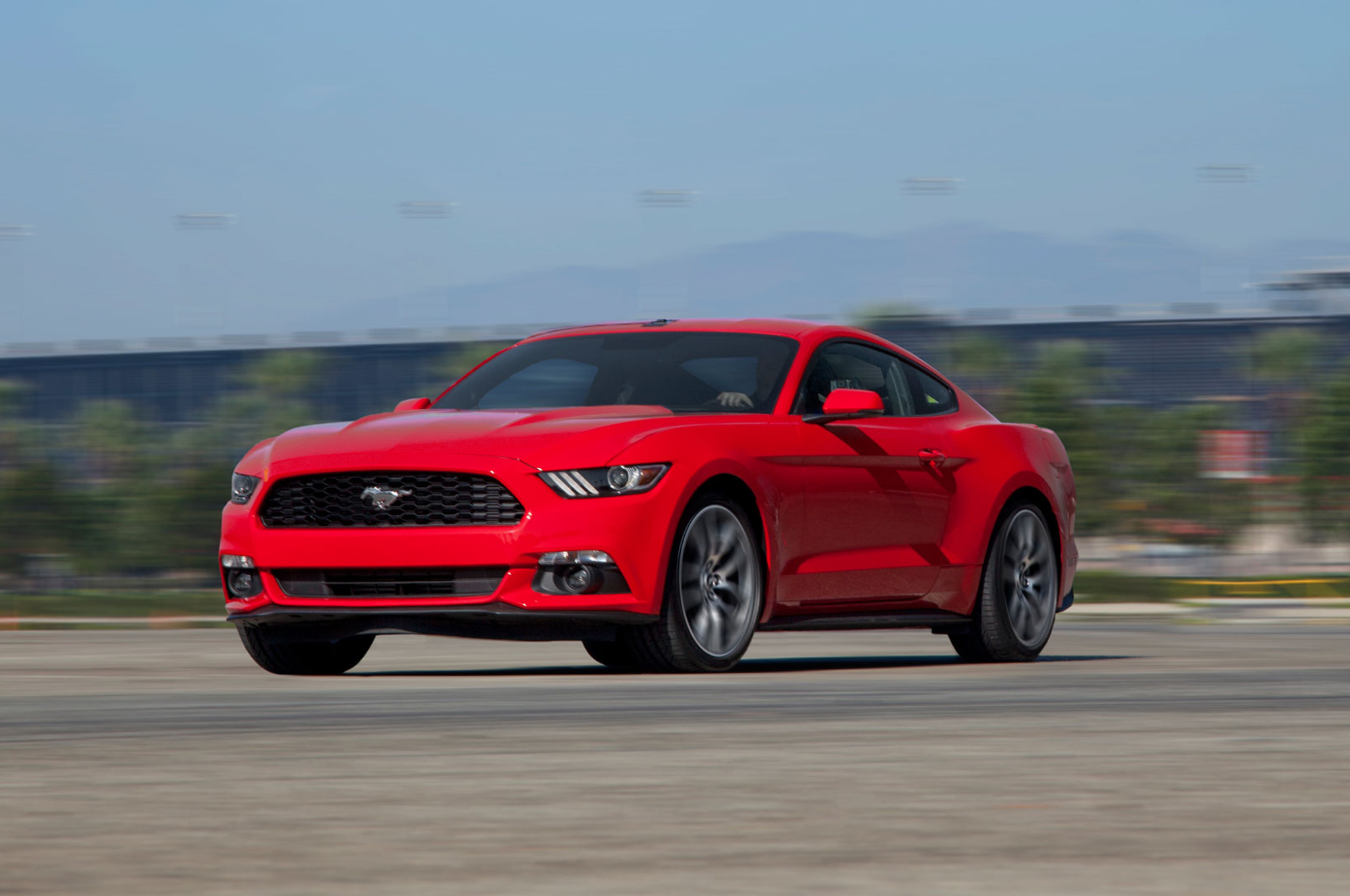 2015 ford mustang ecoboost 2 3 manual first test