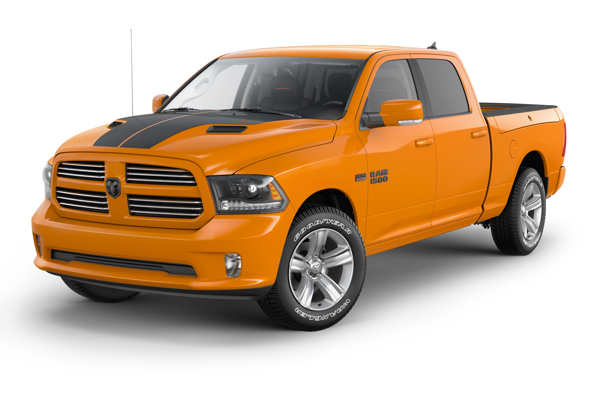 Limited-Edition Orange and Black 2015 Ram 1500 Trucks Coming in Spring
