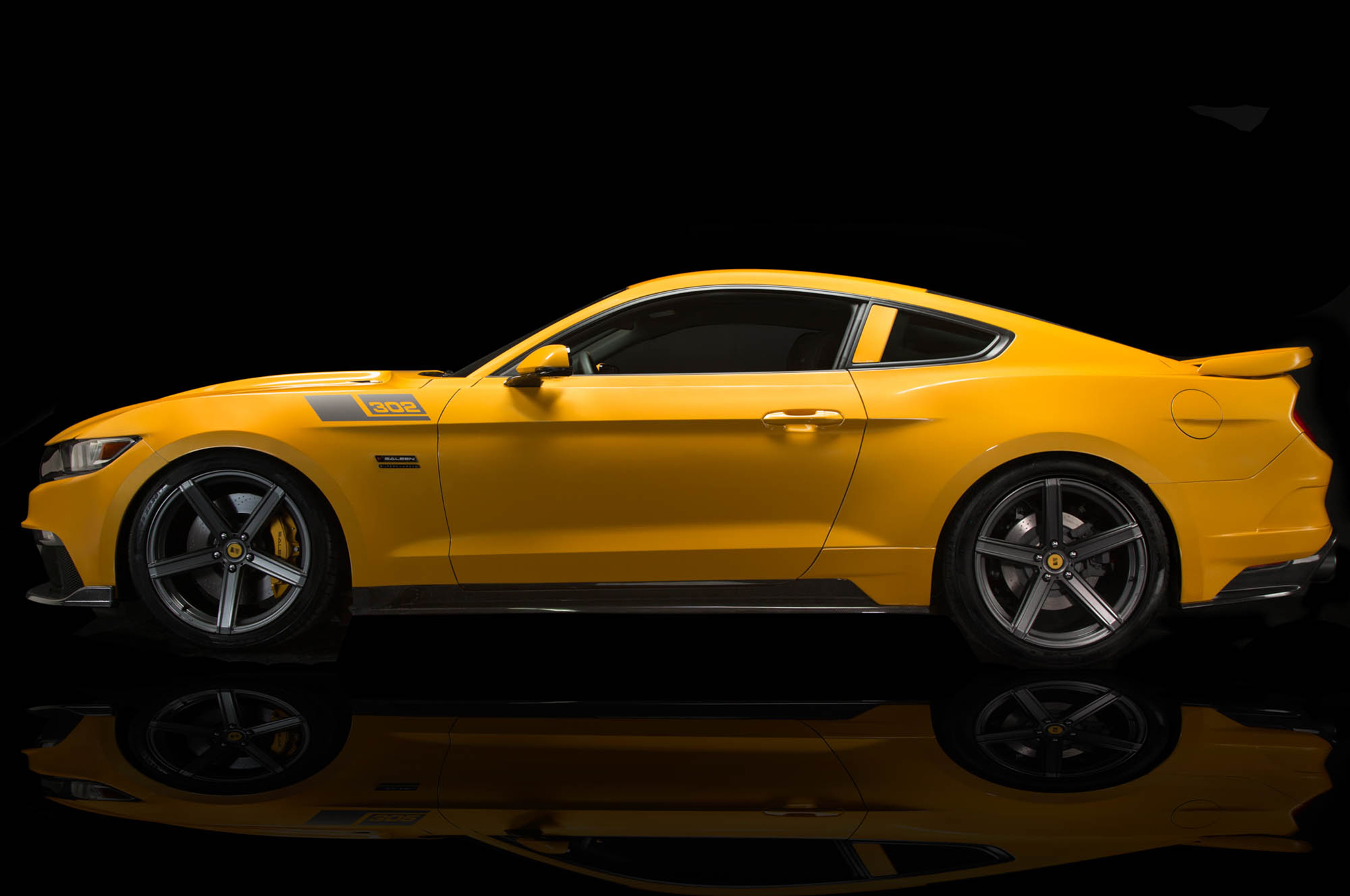 2015 saleen black label 302 mustang debuts with 730 hp