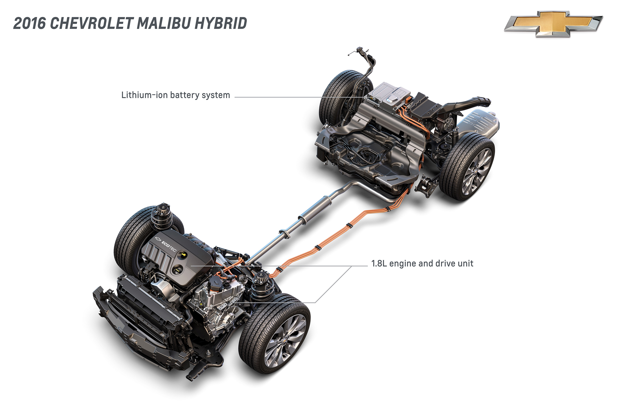 2016 Chevrolet Malibu Hybrid Comes To New York Estimated At 45 Mpg 2 5 Liter Jeep Engine Diagram