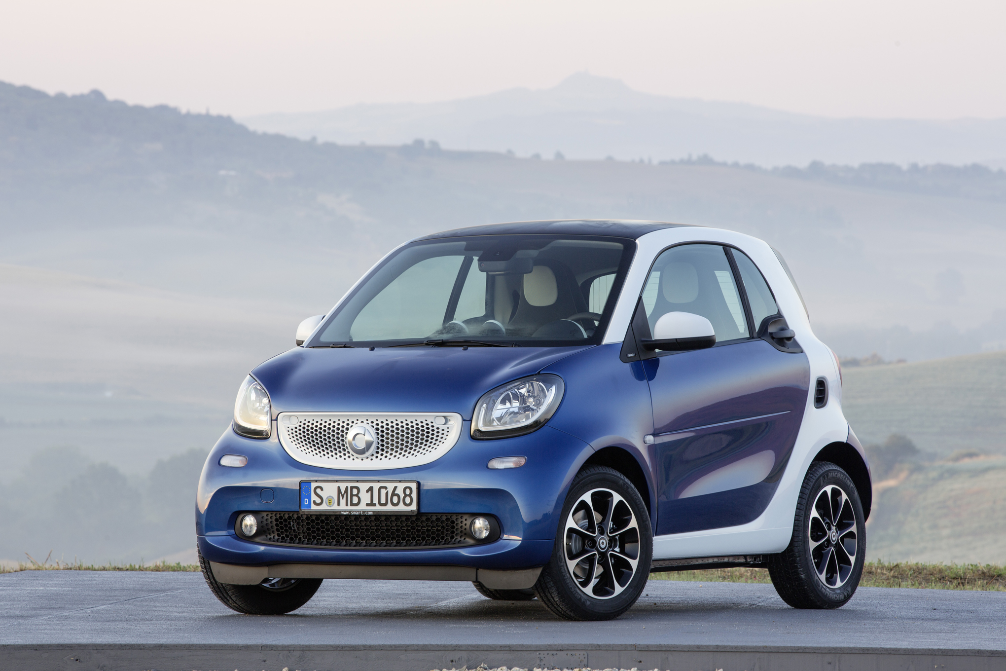 2016 Smart Fortwo to Arrive in U.S. Showrooms this Fall