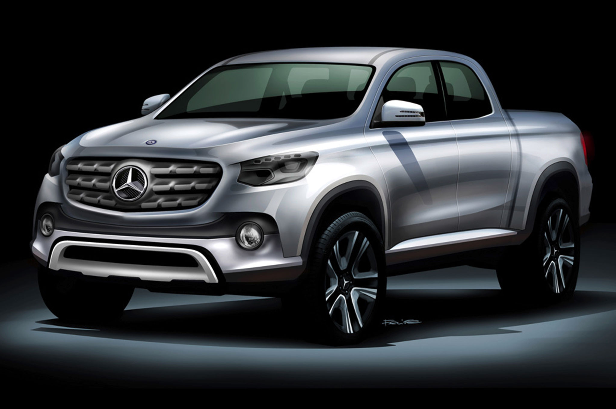 Will the Mercedes-Benz Pickup Truck be Based on a Nissan?