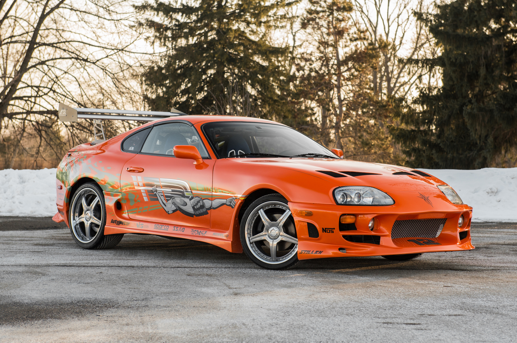 """1993 Toyota Supra From """"The Fast and the Furious"""" Heads to Auction"""