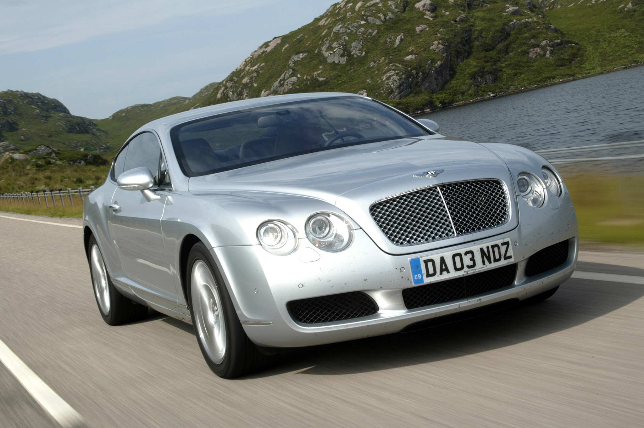 Bentley Continental Gt Front End In Motion on 2005 Bentley Continental Gt 0 60