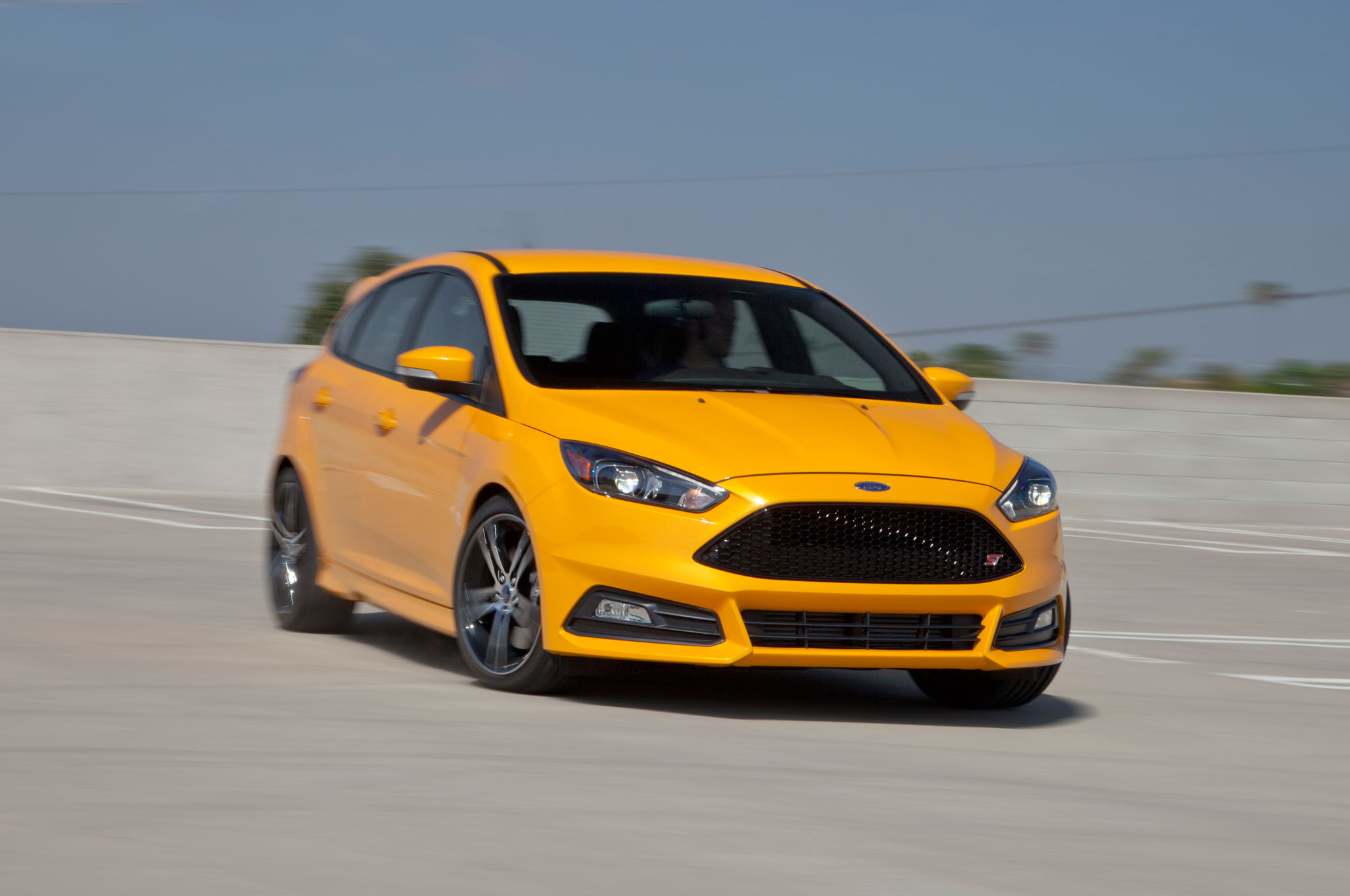 Ford Focus St Specs 0 60 >> 2015 Ford Focus St First Test Motor Trend Motortrend