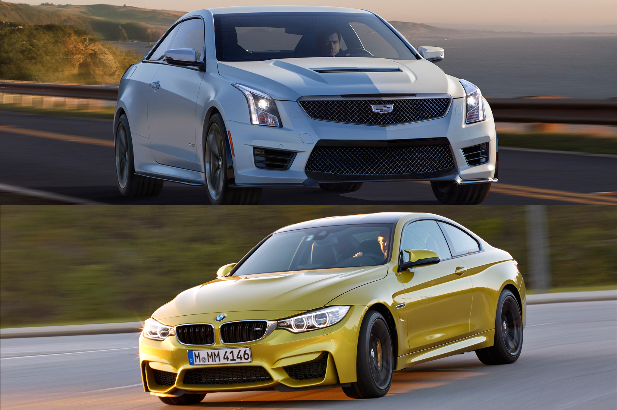 TOTD: 2016 Cadillac ATS-V or 2015 BMW M3, M4 -- Which Would You Pick?