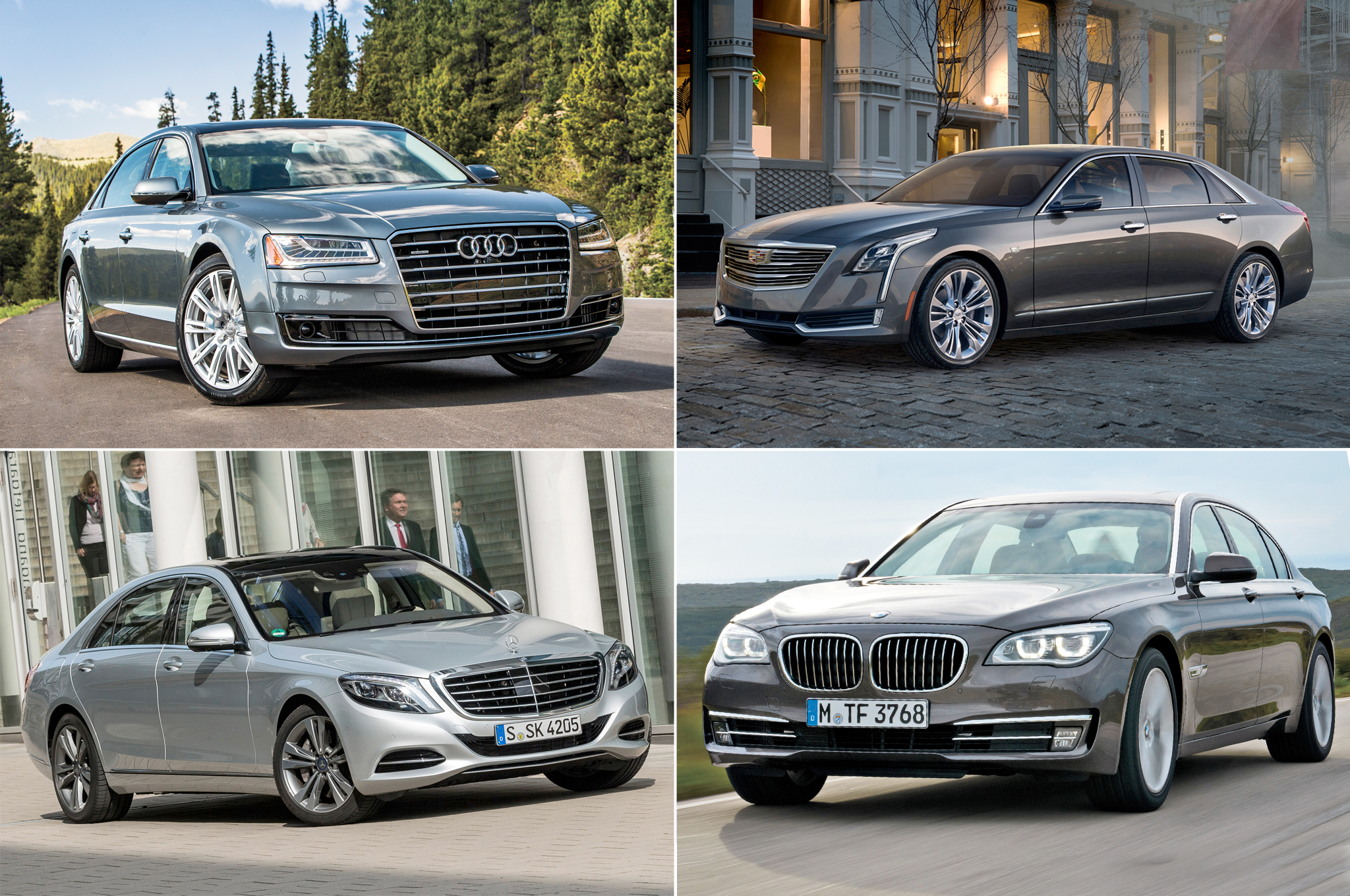 Styling Size Up 2016 Cadillac Ct6 Vs German Luxury Flagships
