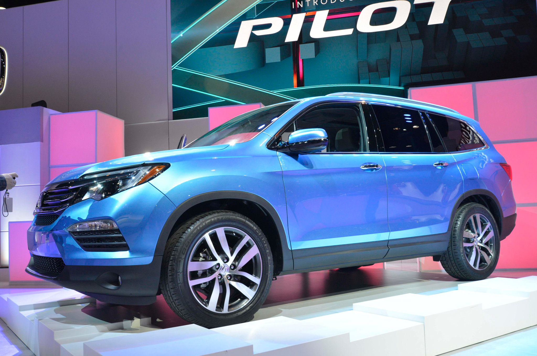 2016 Honda Pilot Will Make 280 HP Gets New Trim Levels