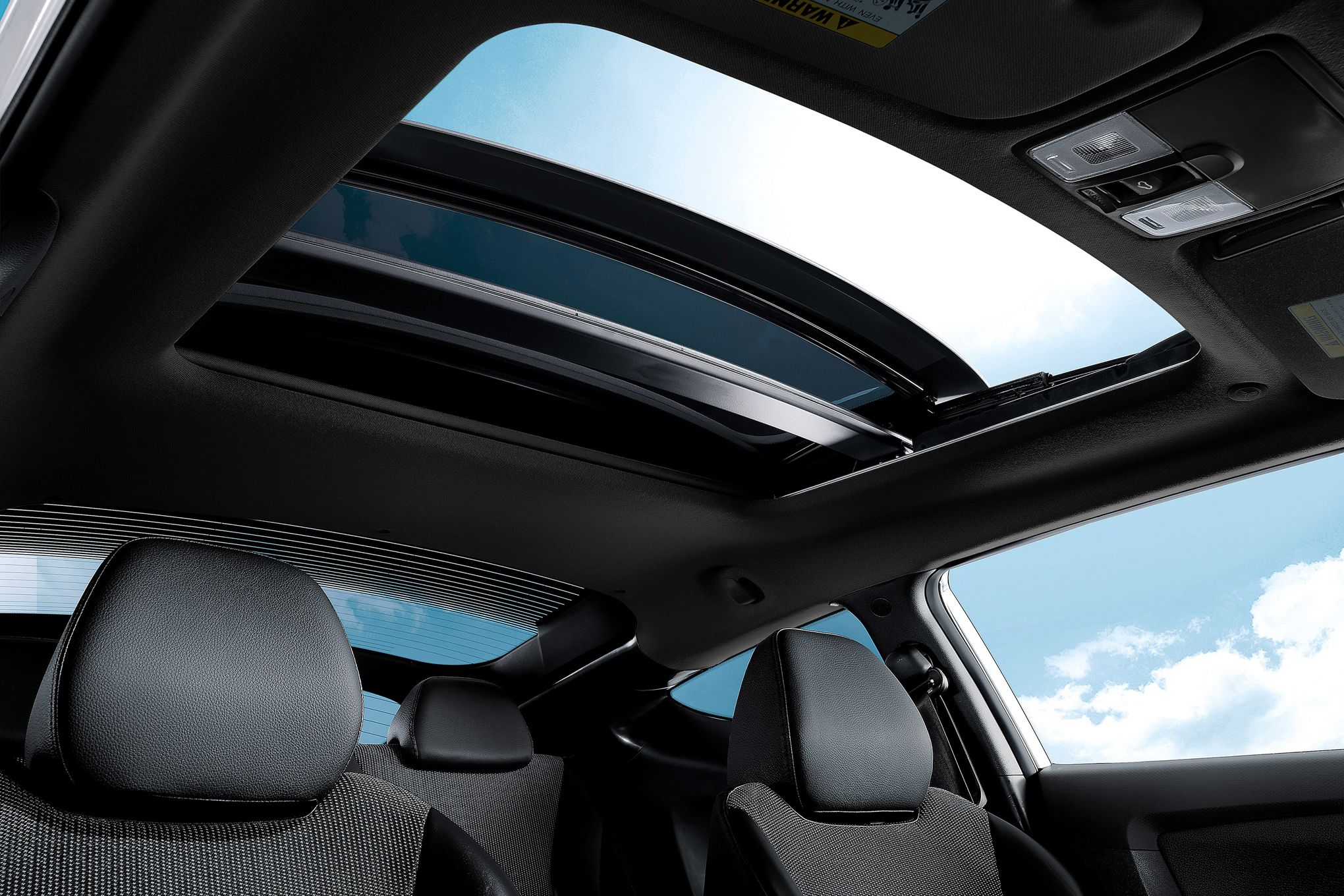 vehicles offering panoramic sunroofs for less than 50 000 motor trend rh motortrend com Aftermarket Power Moonroof Kit Power Moonroof vs Sunroof