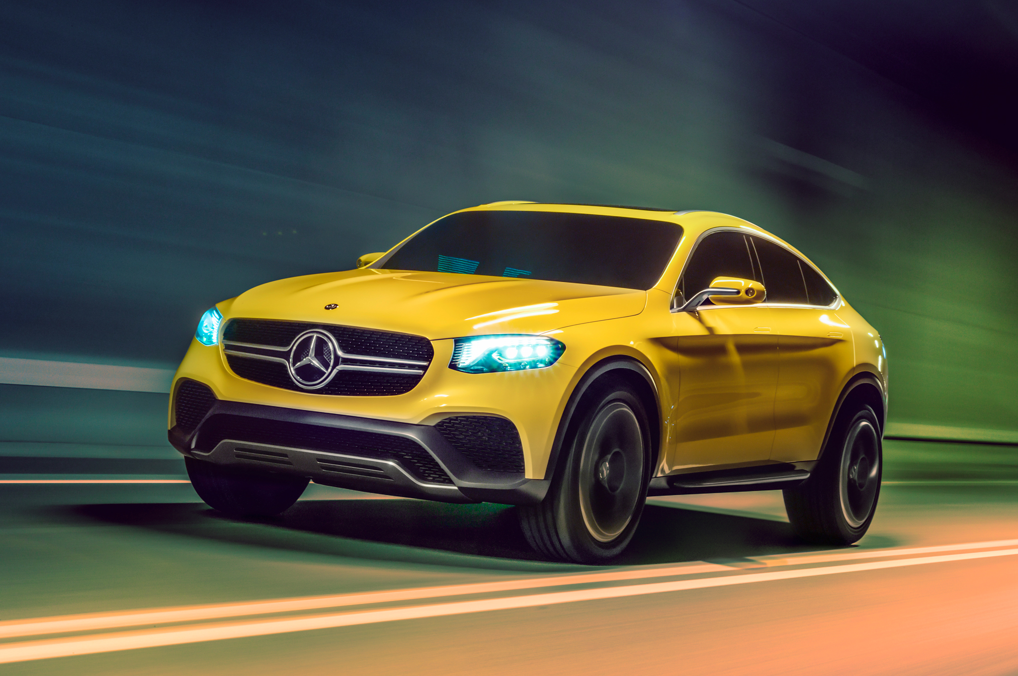 Mercedes Benz Concept Glc Coupe First Look Motor Trend