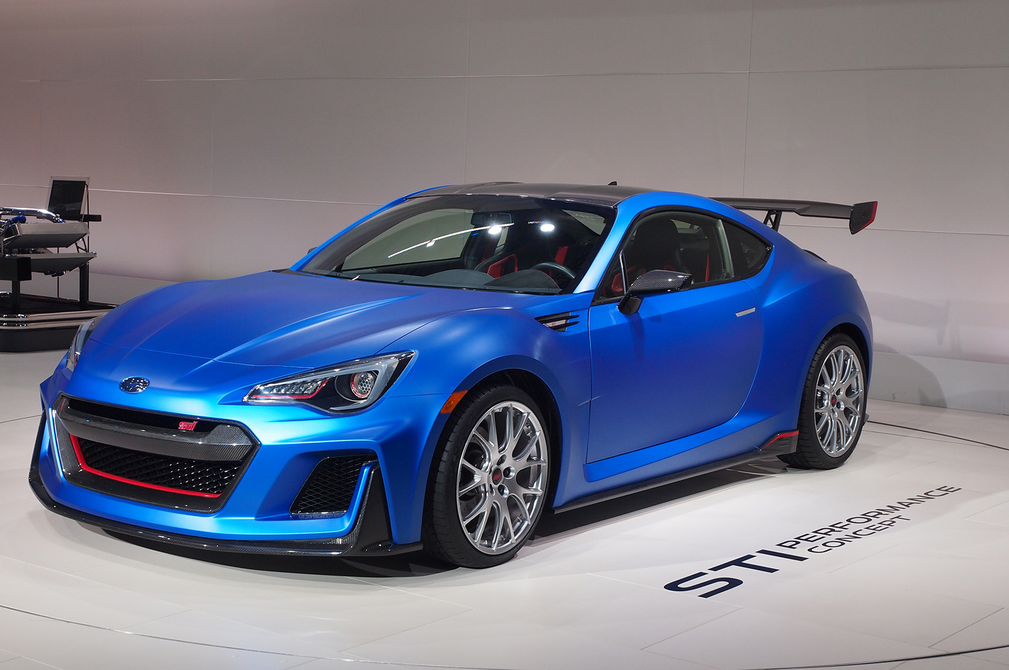 Subaru Brz Sti Performance Concept Debuts At New York Auto Show
