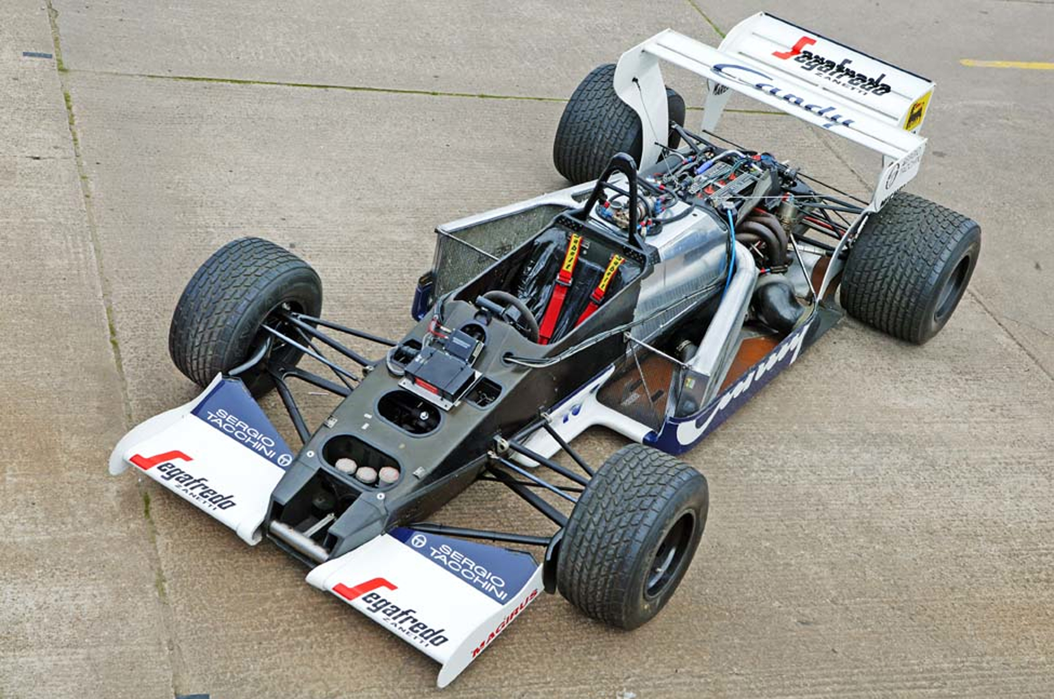 Own the F1 Race Car Ayrton Senna Drove in His Rookie Year