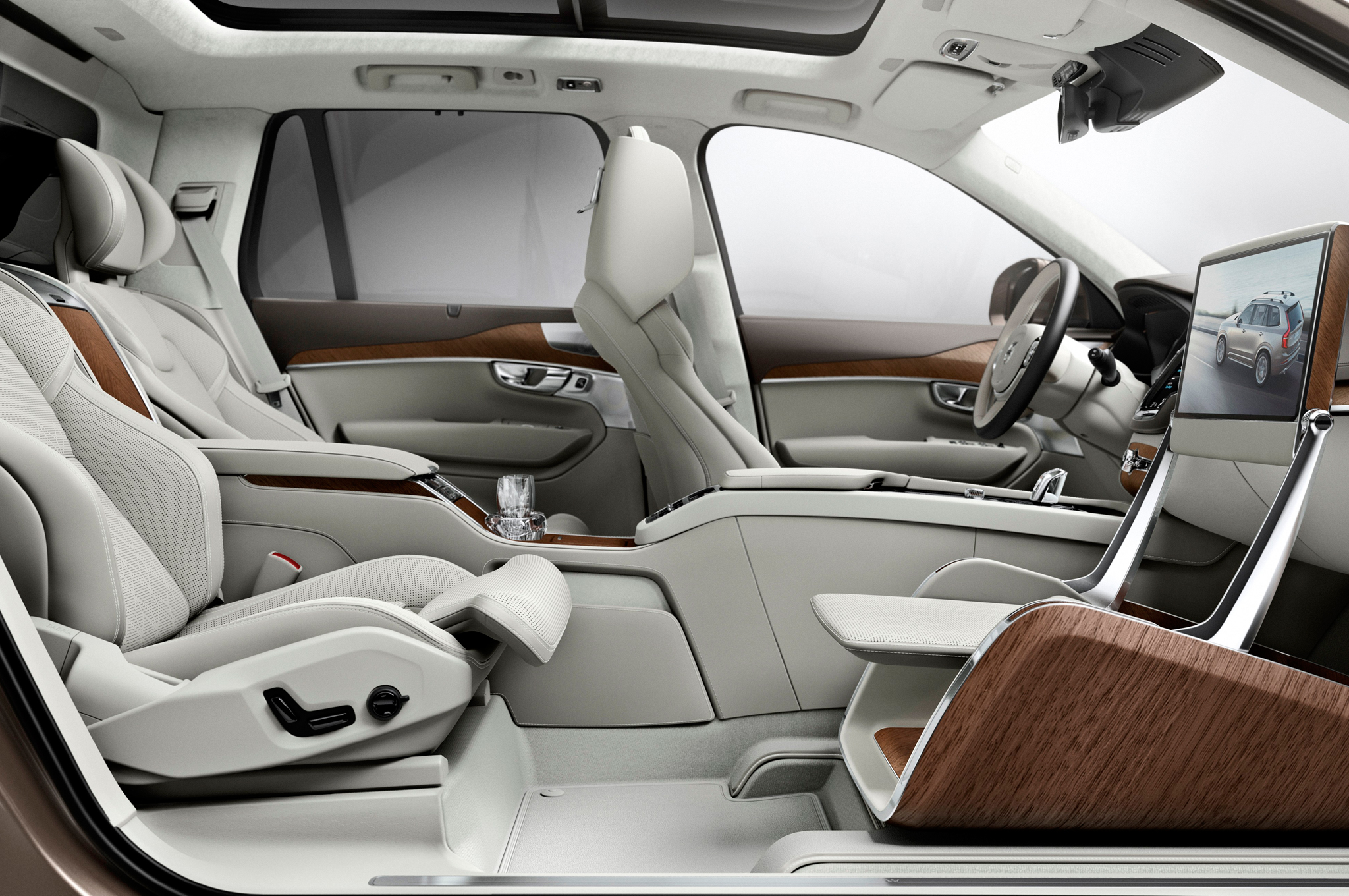Volvo XC90 Back Seat Gets VIP Treatment With Lounge Console Concept - Motor Trend
