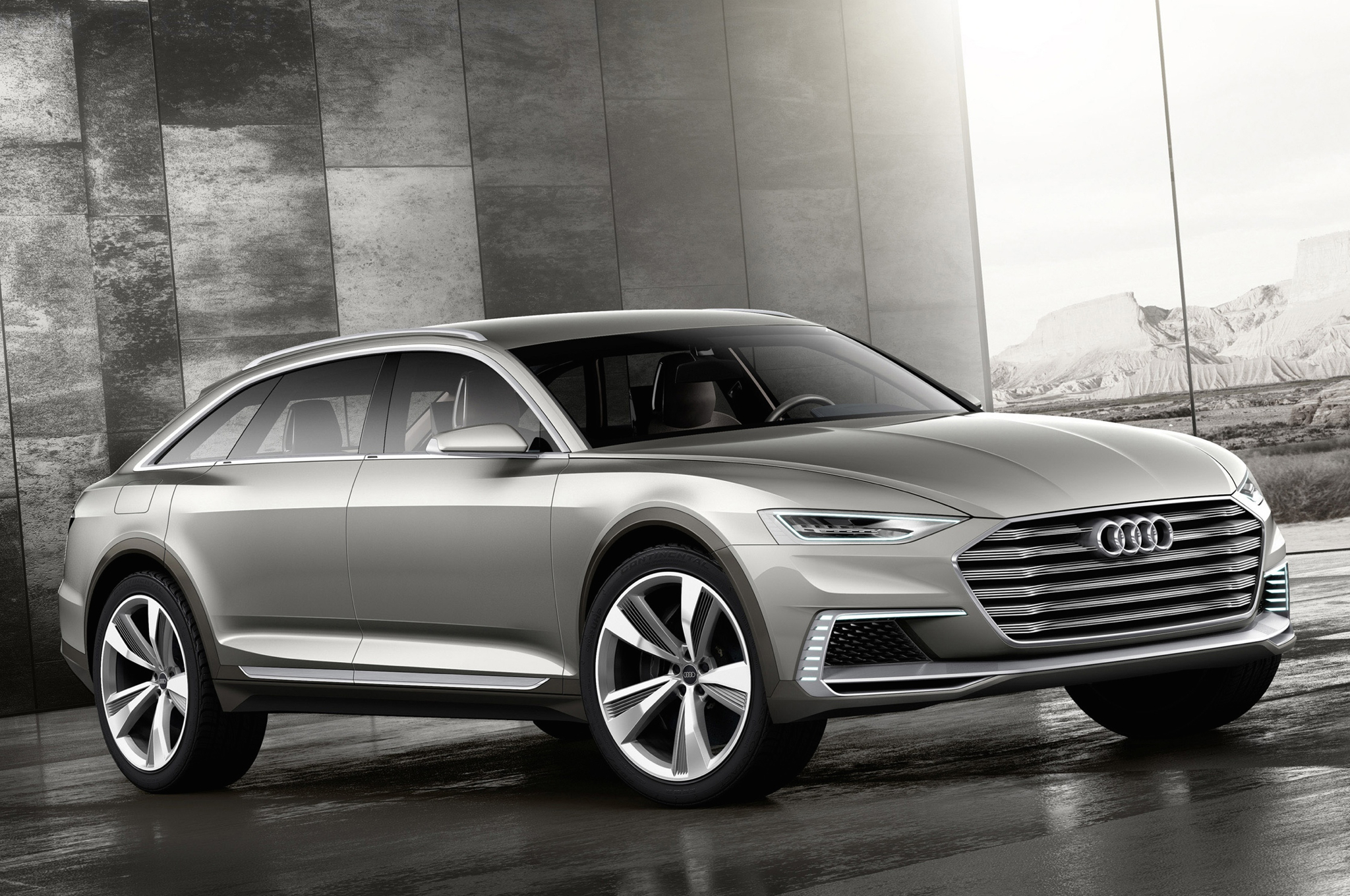 Audi Prologue Allroad Concept to Debut in Shanghai