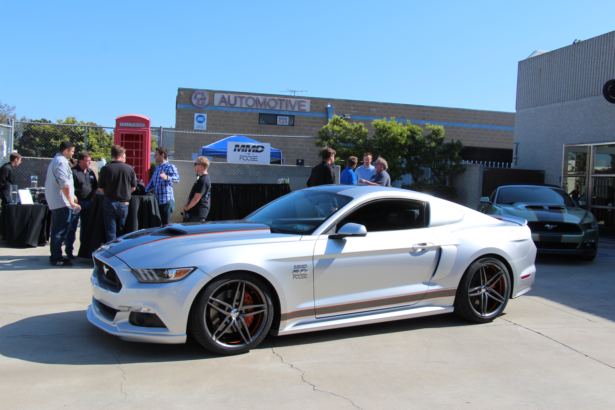 We drive the mmd by foose 810 hp 2015 ford mustang gt motortrend