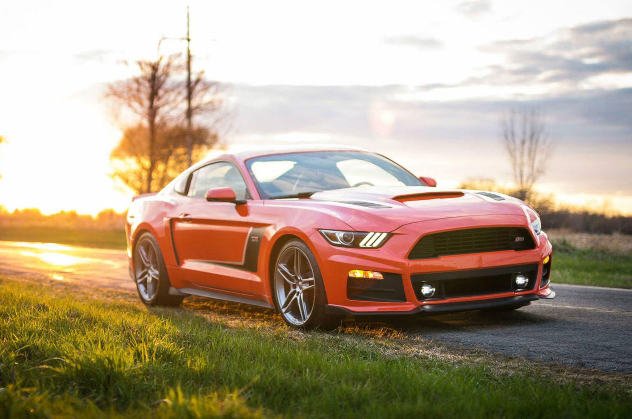 Wild Horse 2015 Roush Stage 3 Mustang Makes 670 Hp Motor Trend