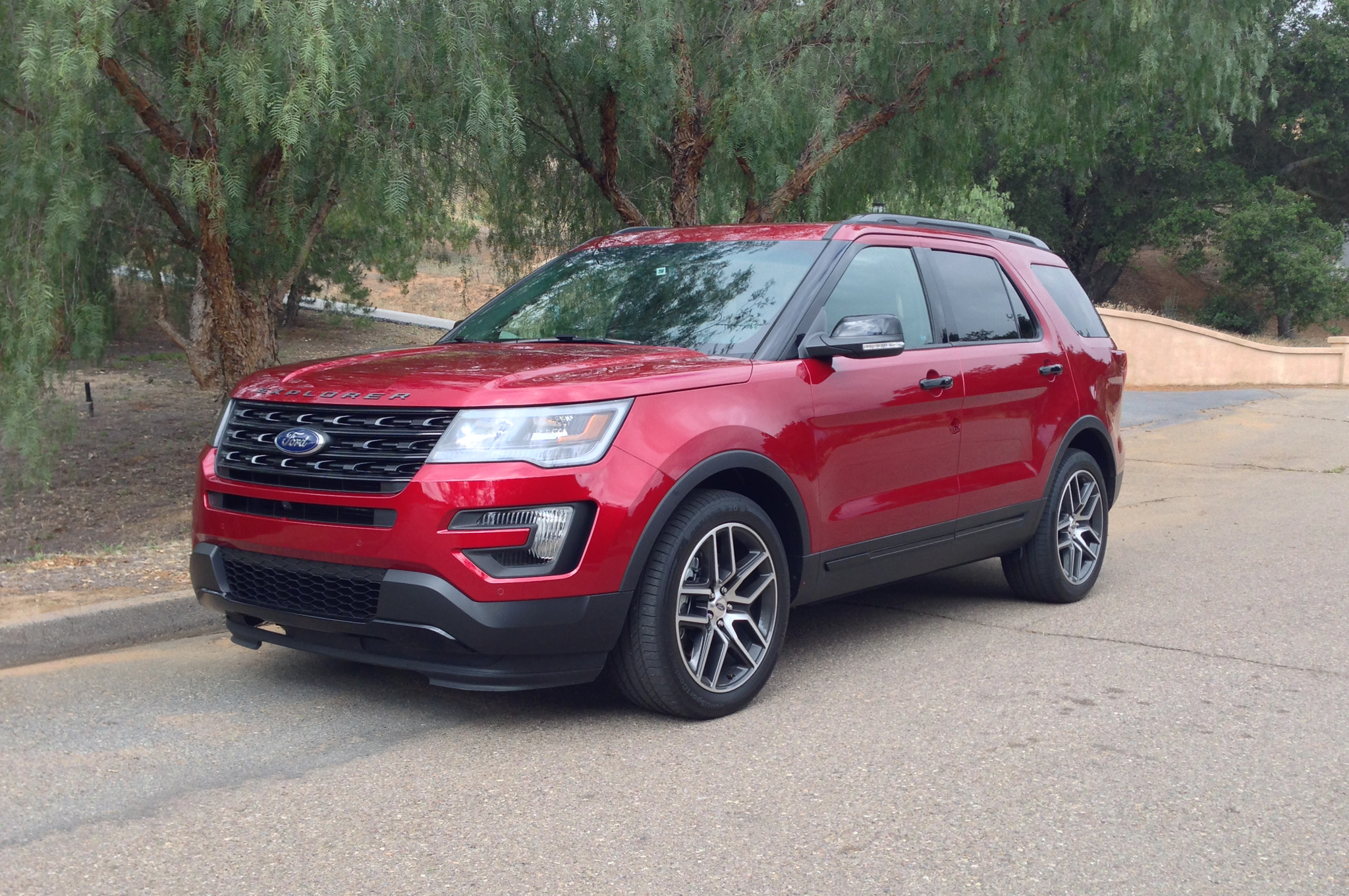 2016 Ford Explorer By The Numbers Motortrend