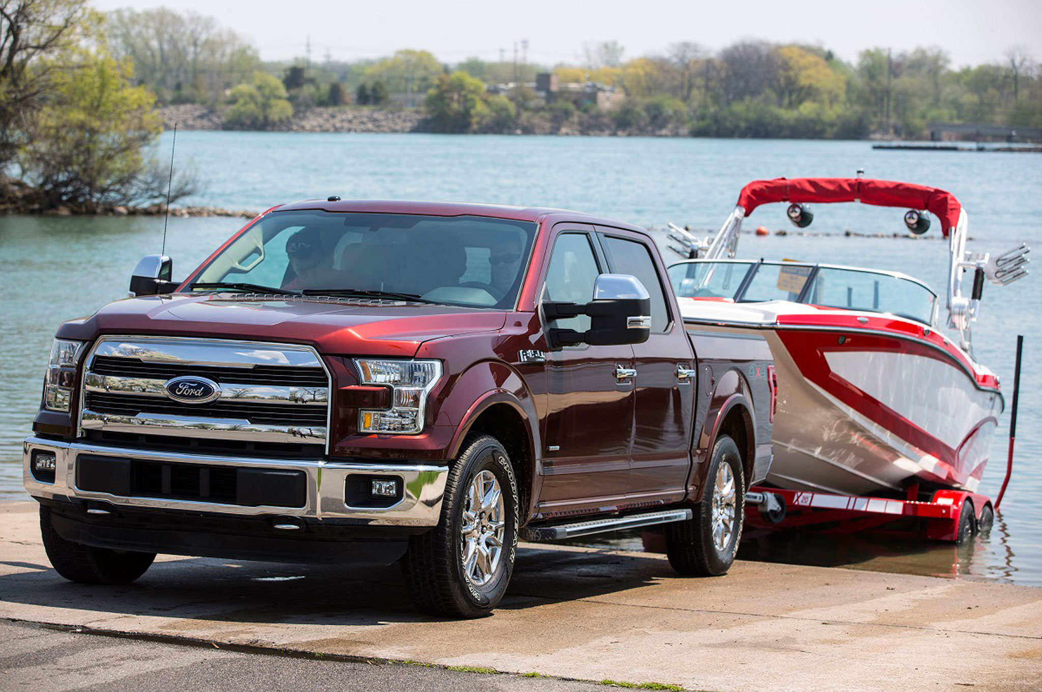 2016 Ford F-150 Adds Pro Trailer Backup Assist System