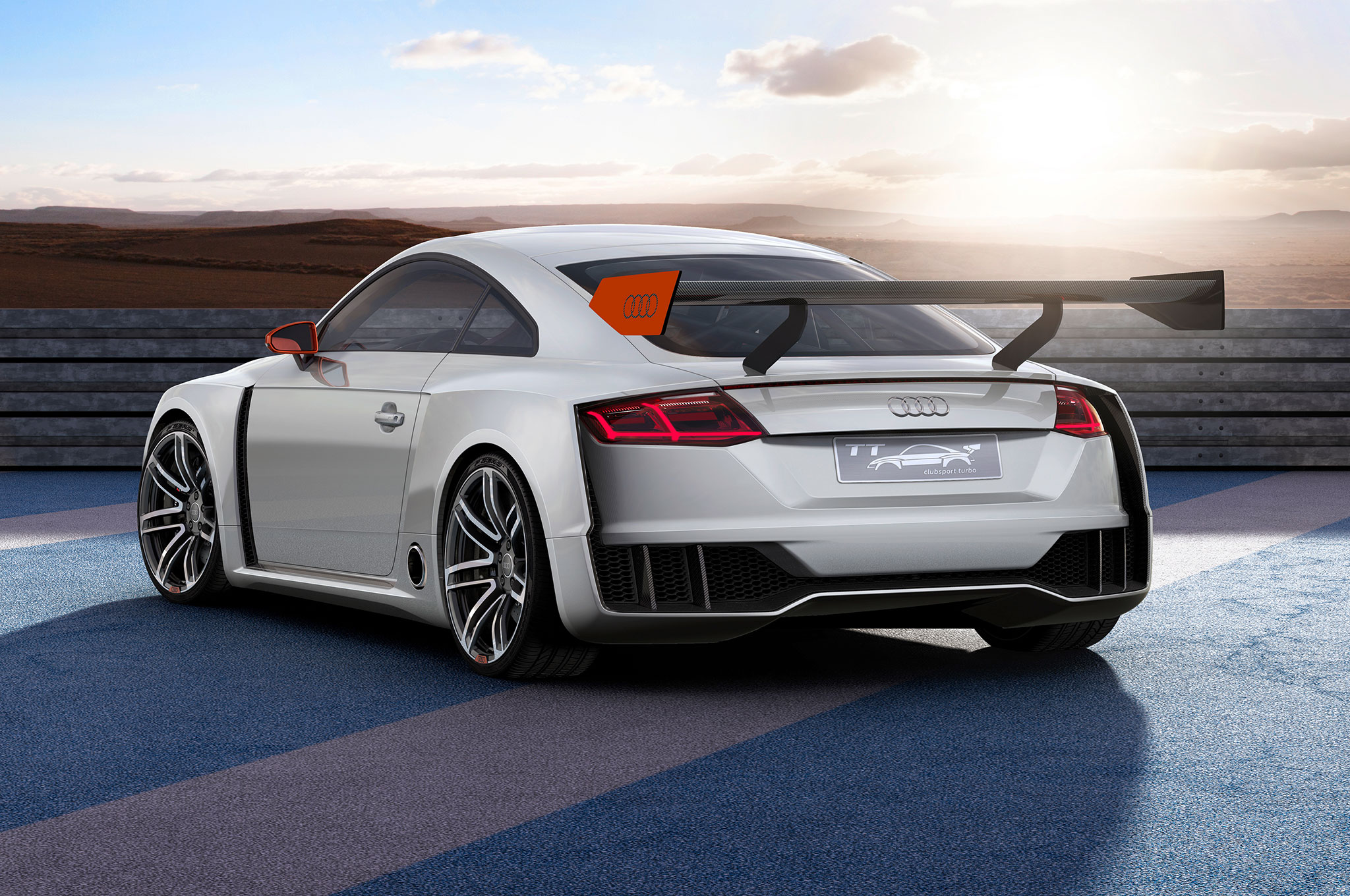 Audi TT Clubsport Turbo Concept Makes Close to 600 HP for Worthersee