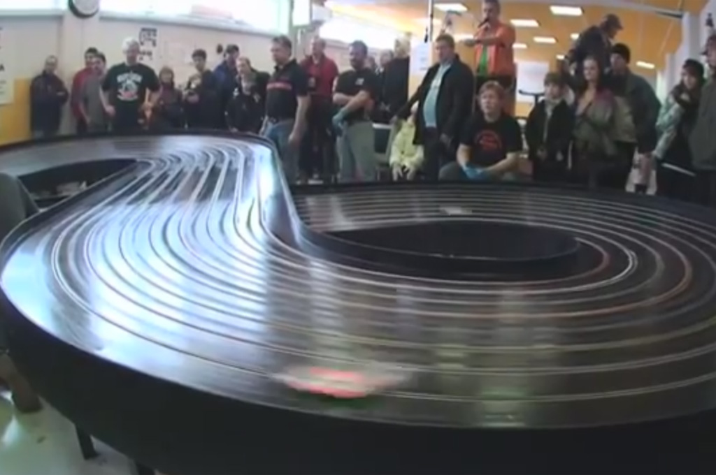 Watch These Slot Cars Race at Warp Speed (W/Video)