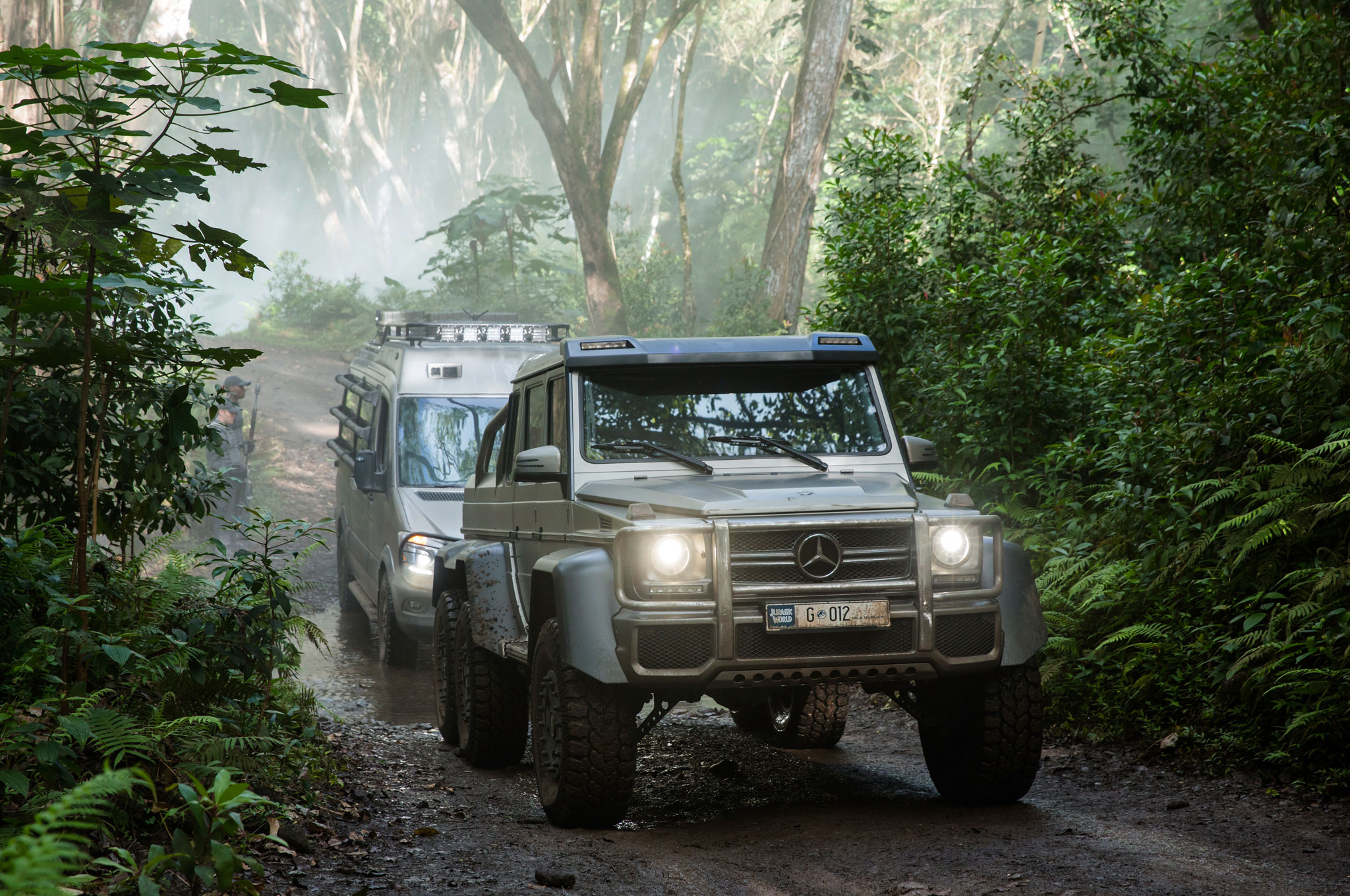 """Jurassic World"" to Star Mercedes-Benz GLE Coupe, G-Class, Unimog"