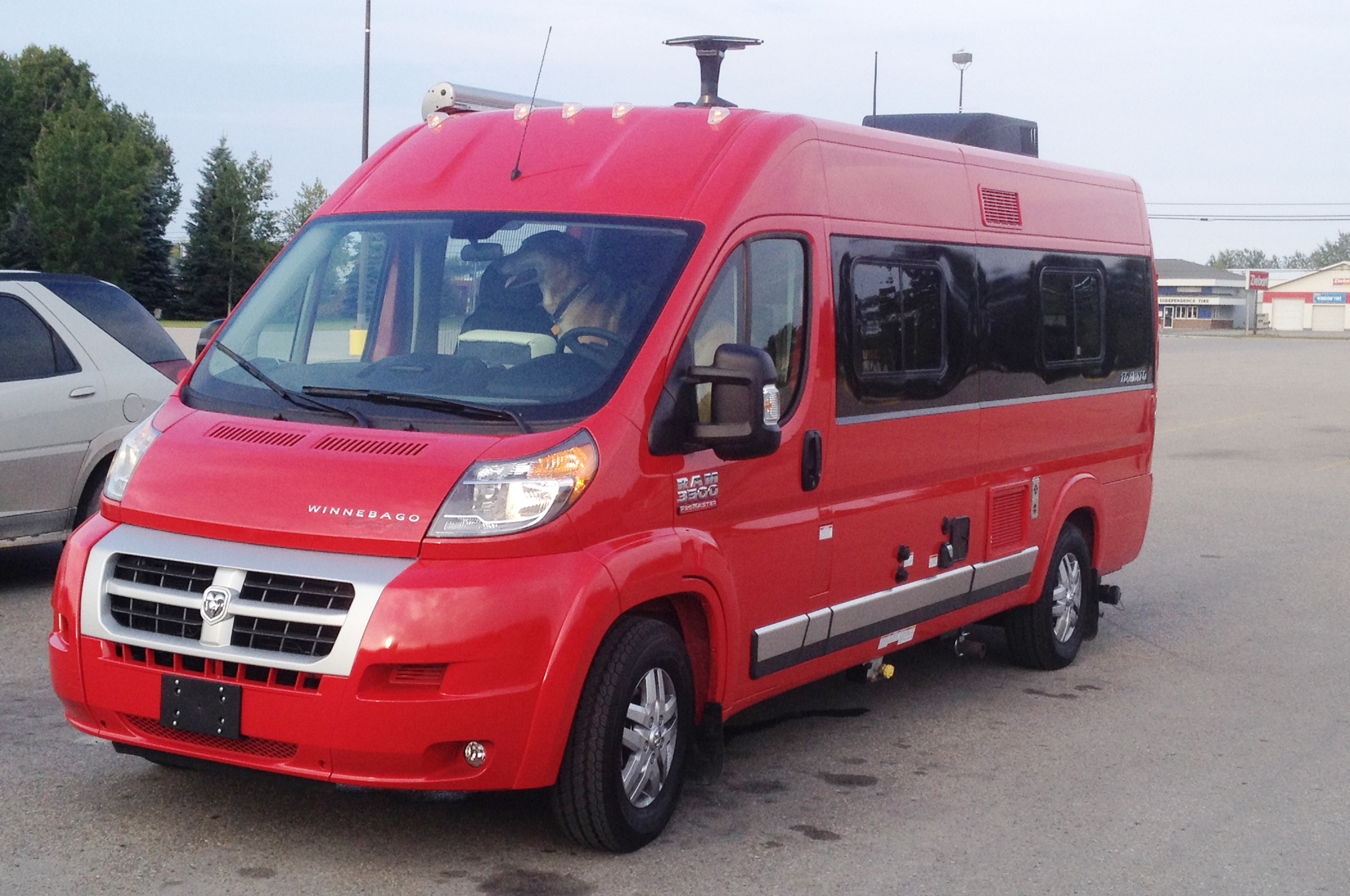 5c6d472da2 Winnebago Travato First Drive. Bravo Travato  Compact RV ...