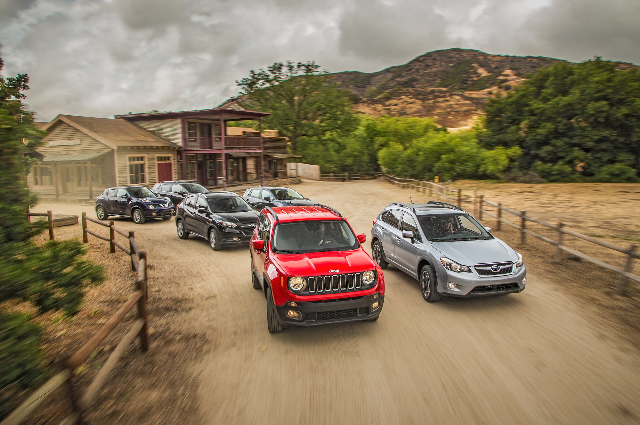The Big Test 2015 2016 Sub pact Crossovers Motor Trend