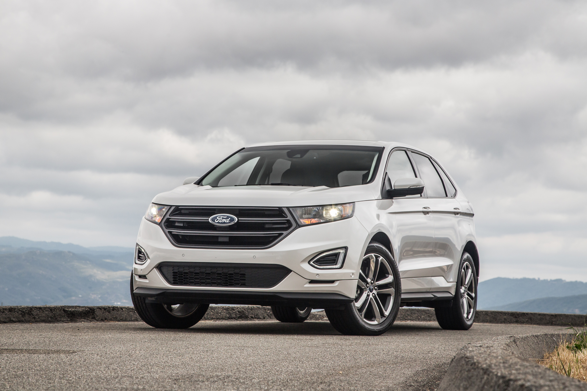 Ford Edge Sport Awd First Test Review