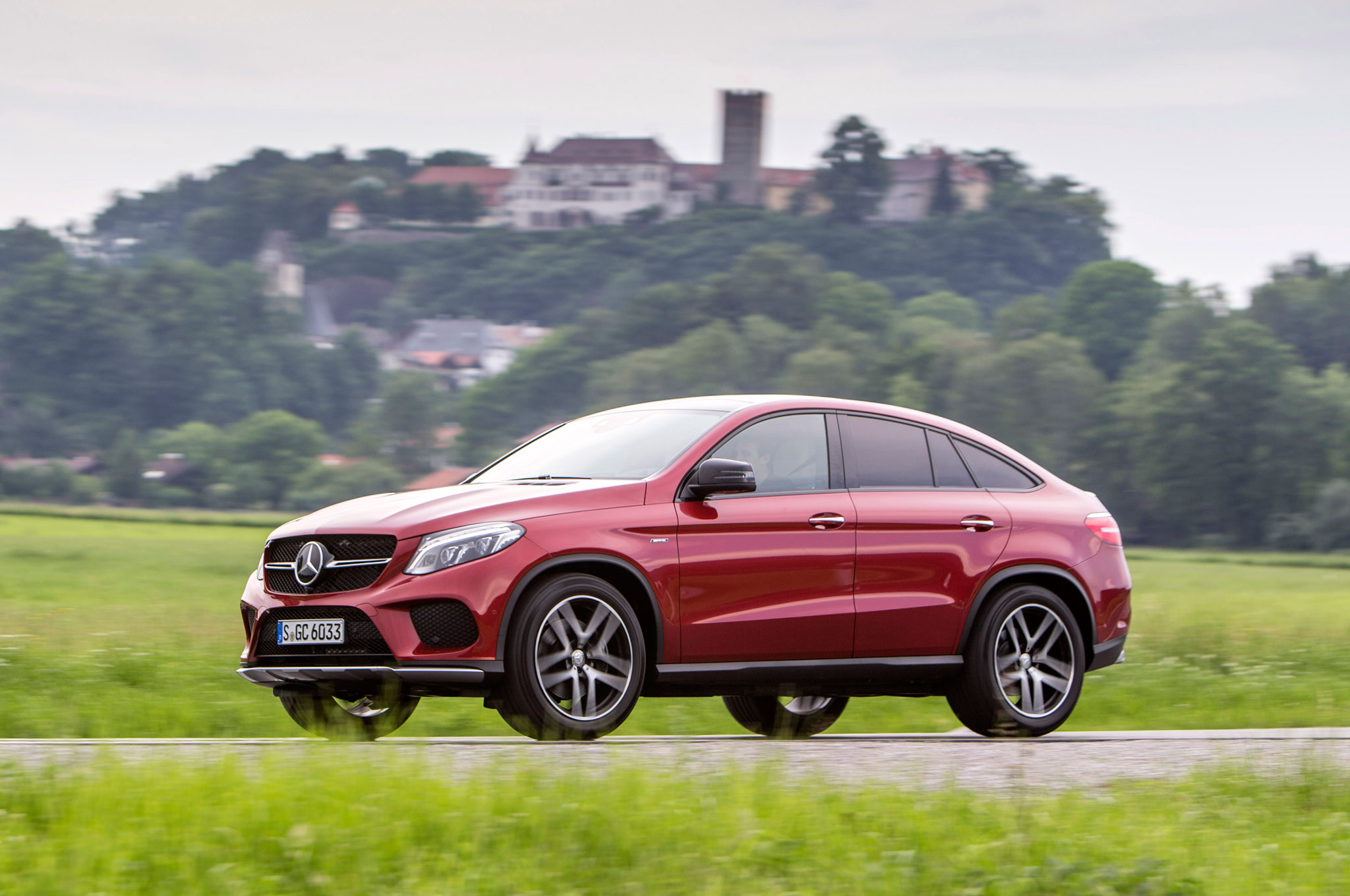 6d123a697b 2016 Mercedes-Benz GLE Coupe First Drive Review - MotorTrend
