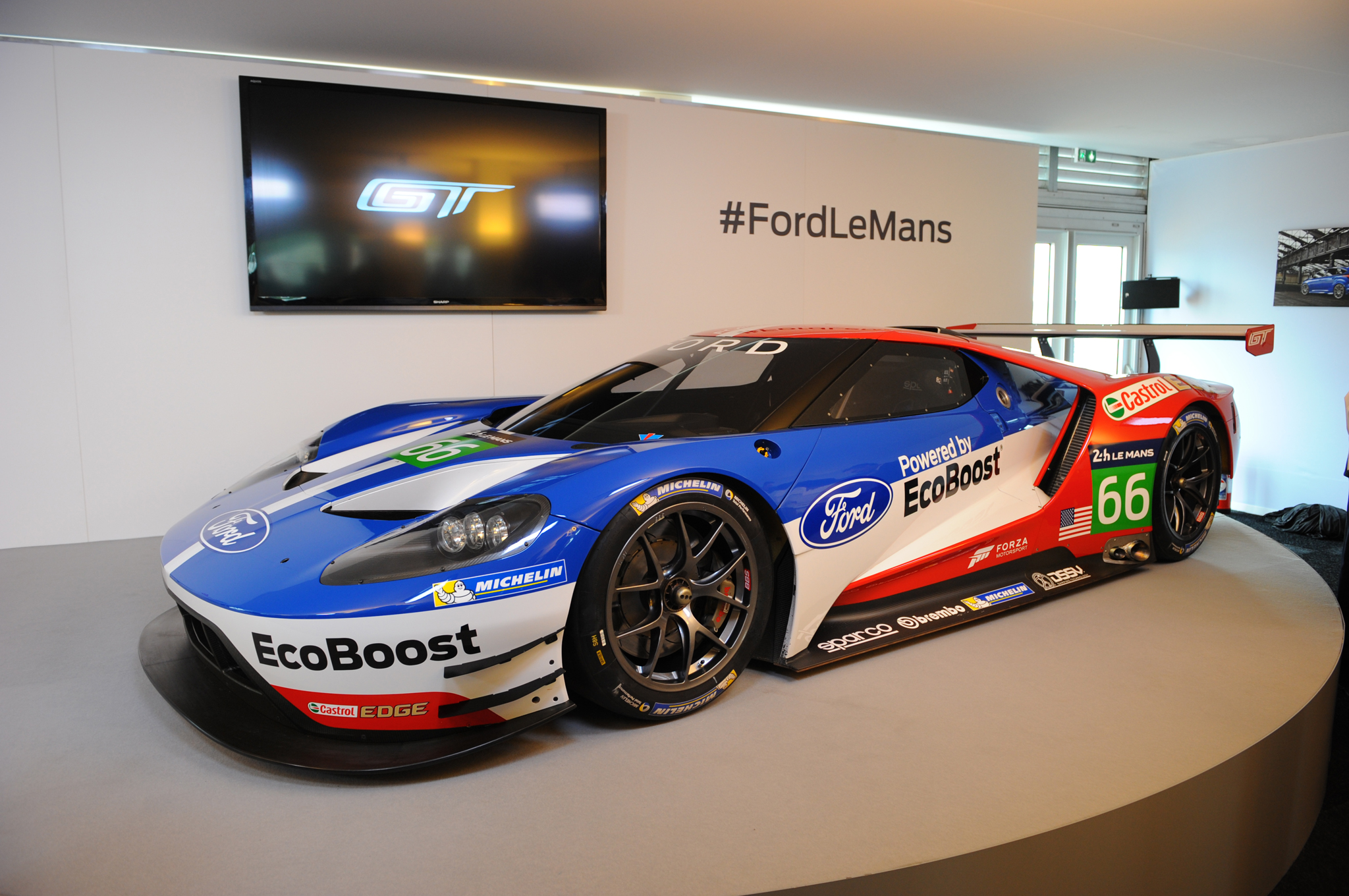 Interview Four Blue Oval Bigwigs On The Ford Gt Race Car